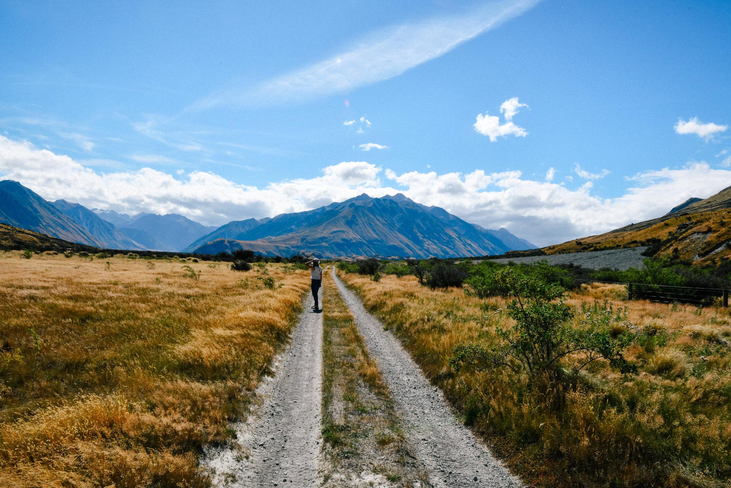 mt sunday trail