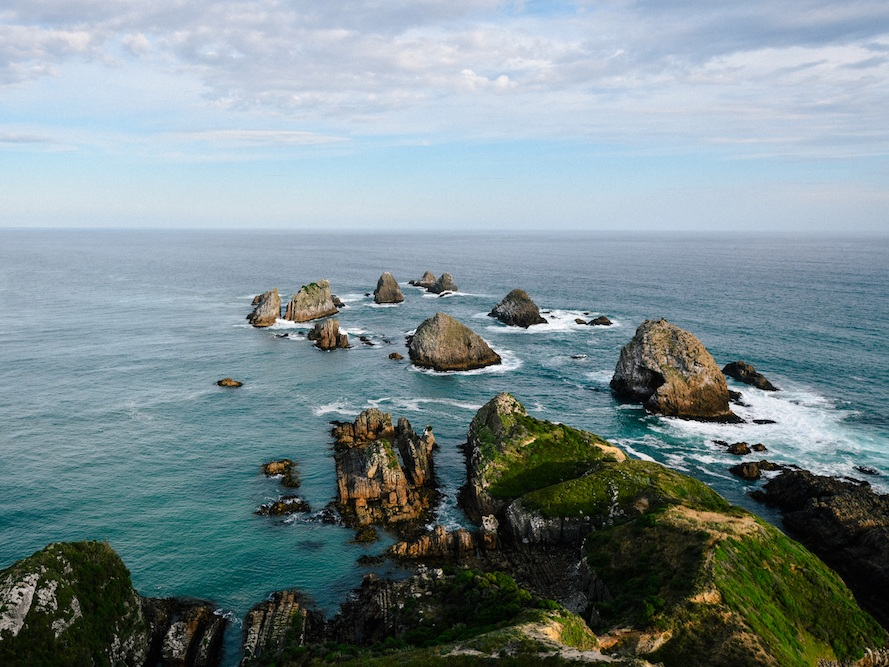 Beautiful nugget point