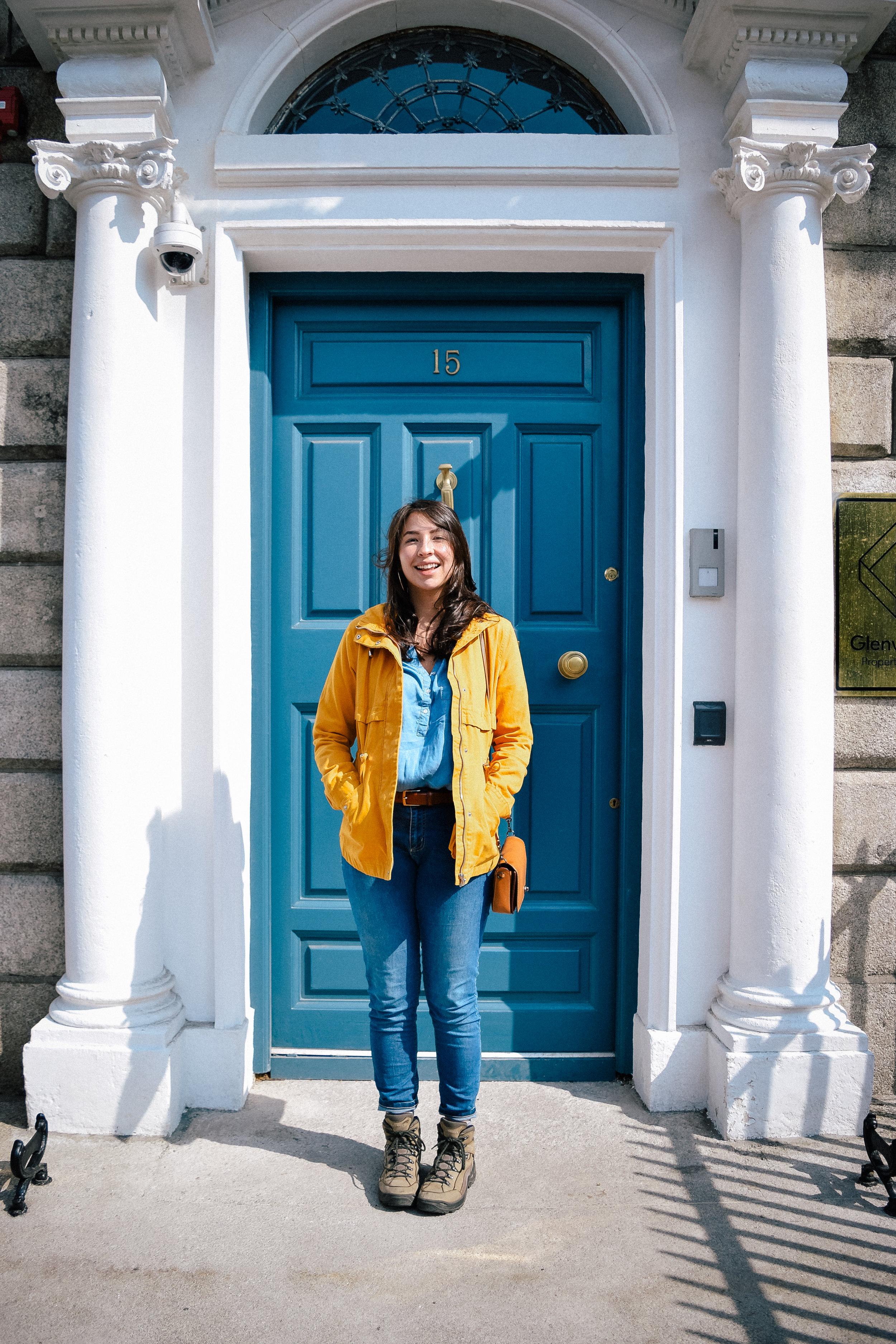 Another blue door in Dublin