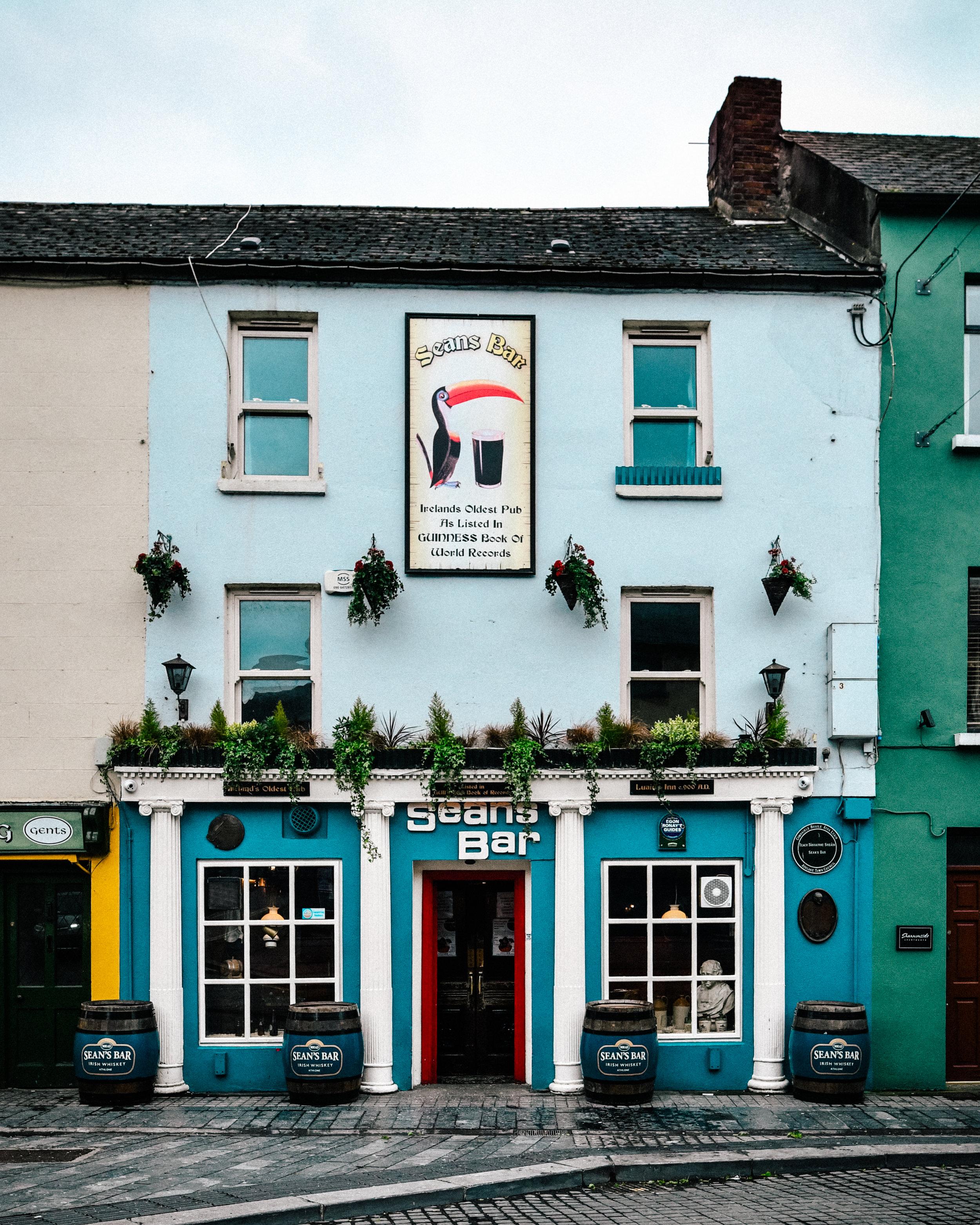 The oldest bar in the world - Sean's Bar, Athlone