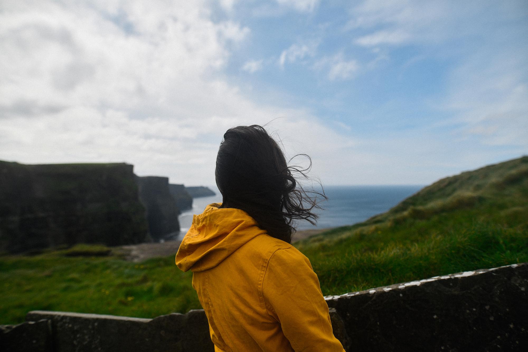 Cliffs of Moher overlook