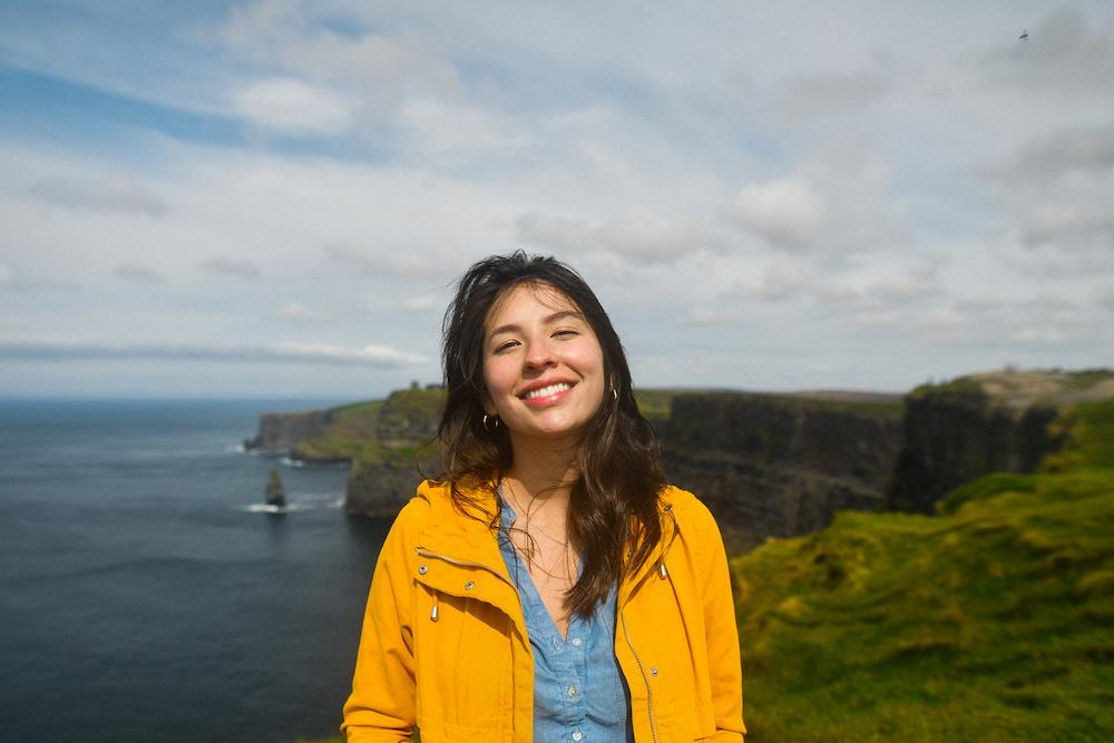 Cheesin at the cliffs