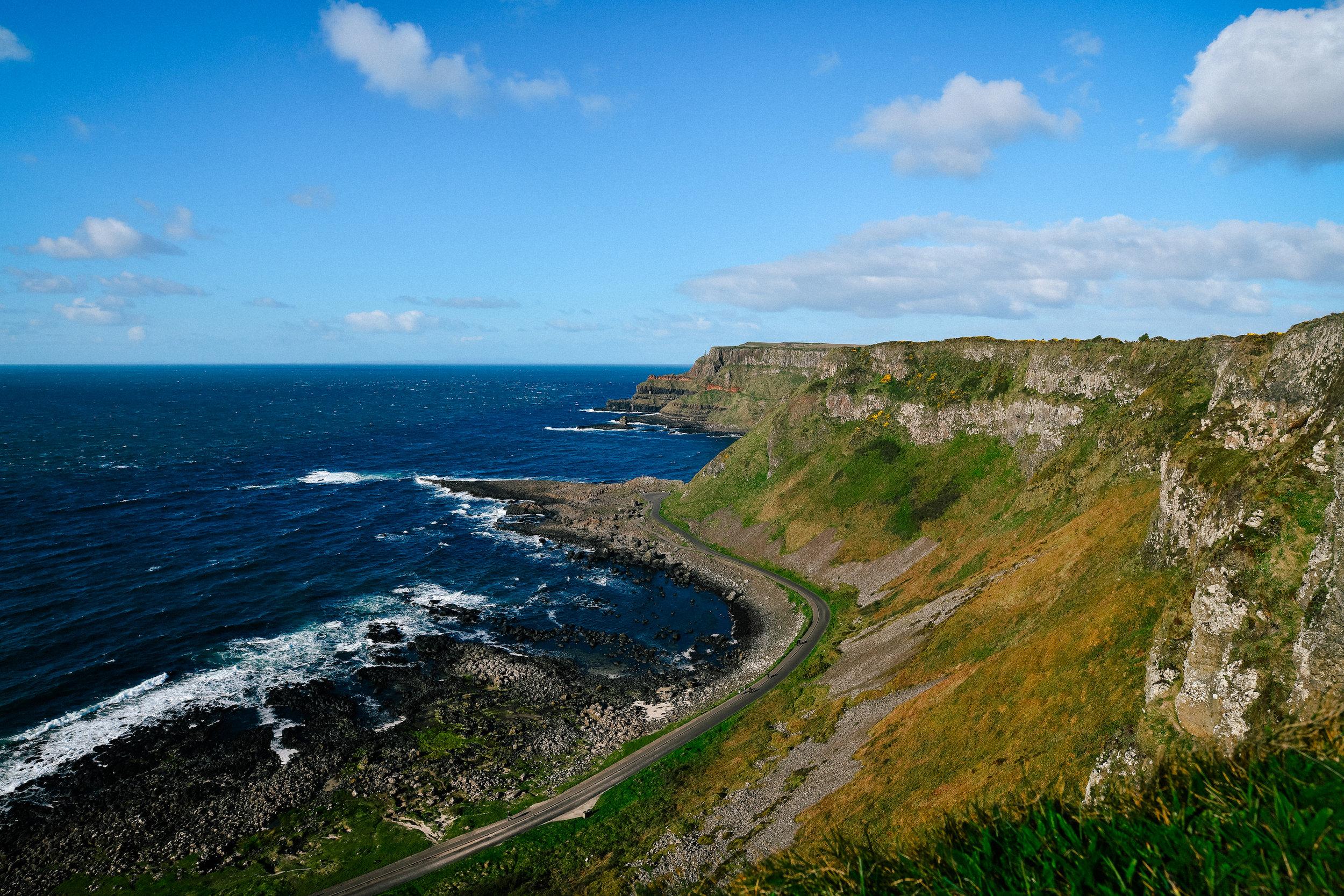Antrim Cliff walk