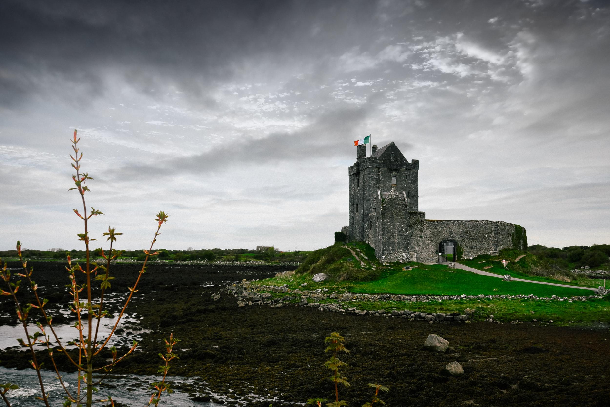 Beautiful dunguaire castle