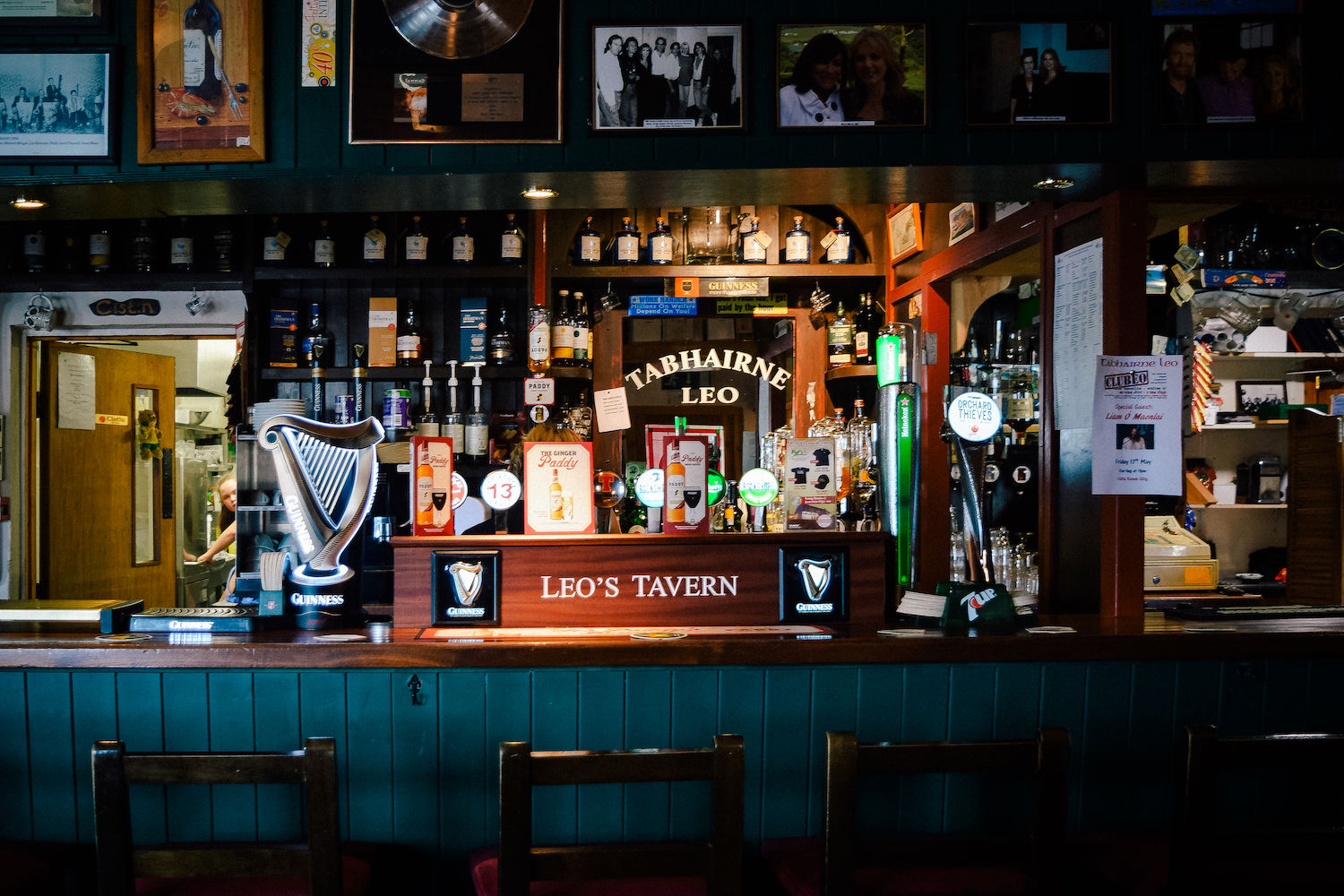 Our regular pub - Leo's Tavern in Donegal