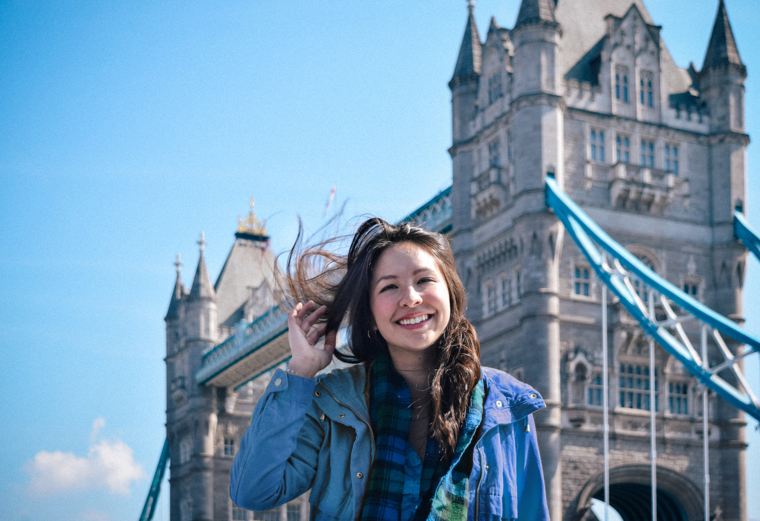 Hello from England! In front of tower bridge