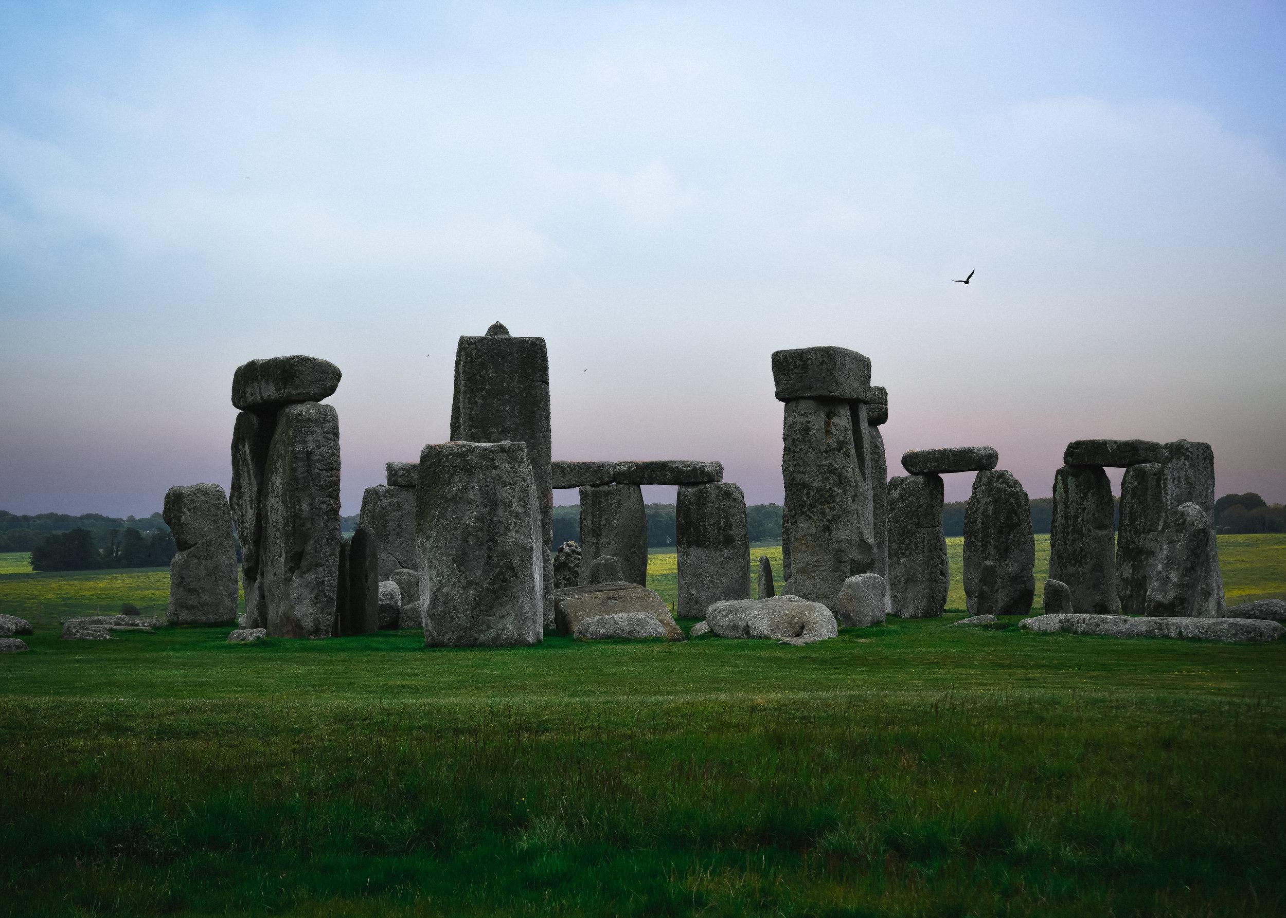 Stonehenge was beautiful
