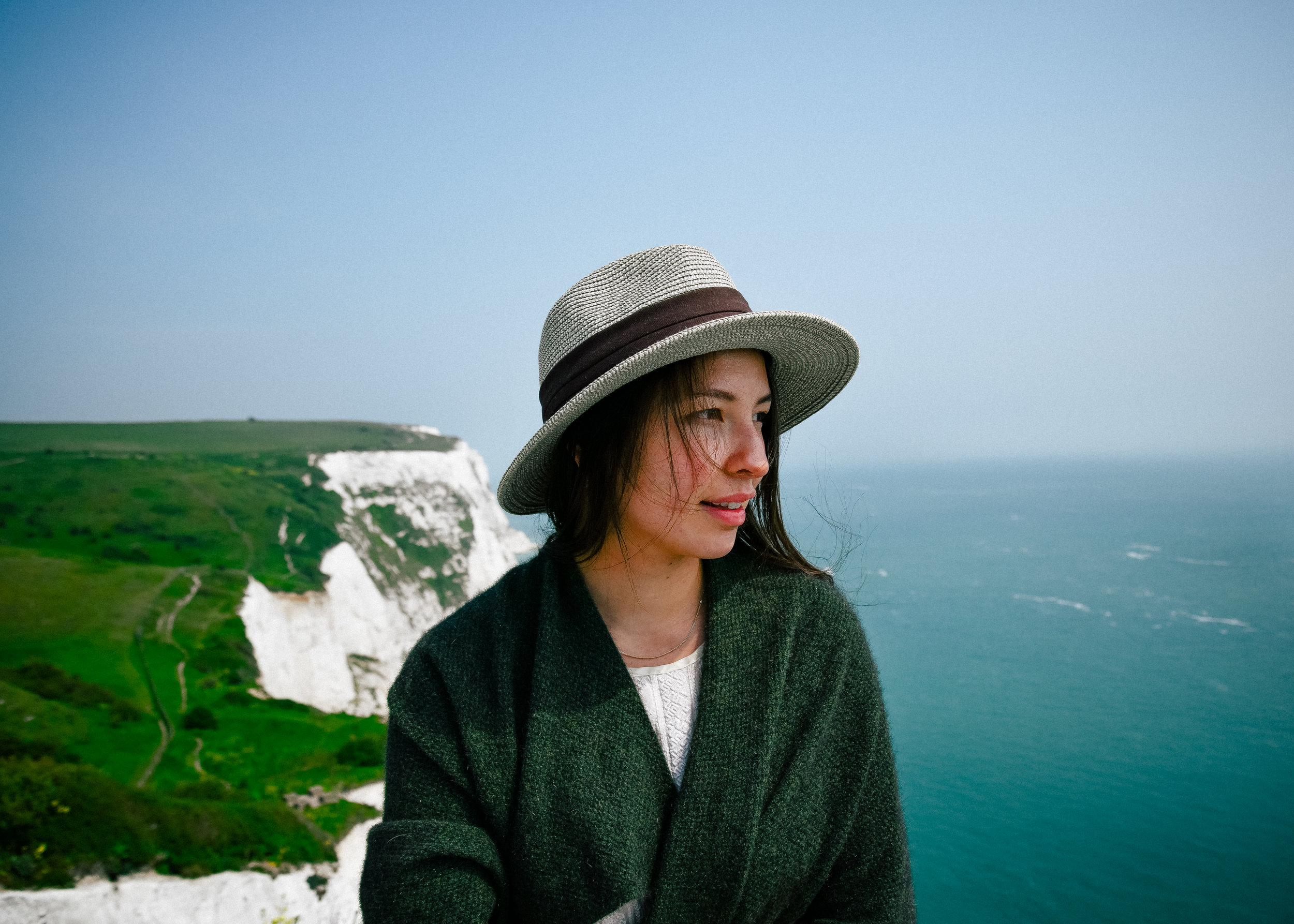 Beautiful cliffs of Dover!!