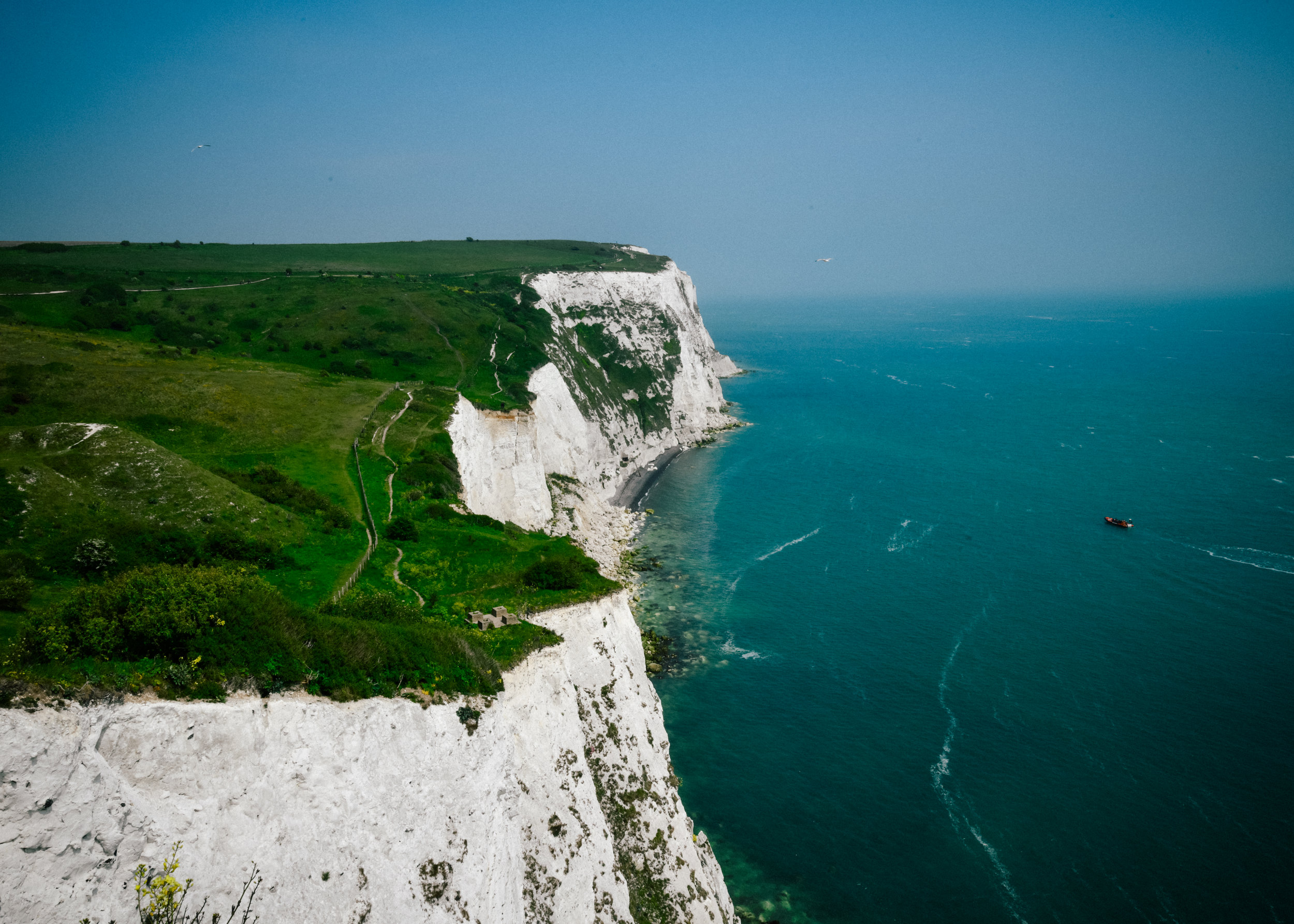 Beautiful cliffs of Dover