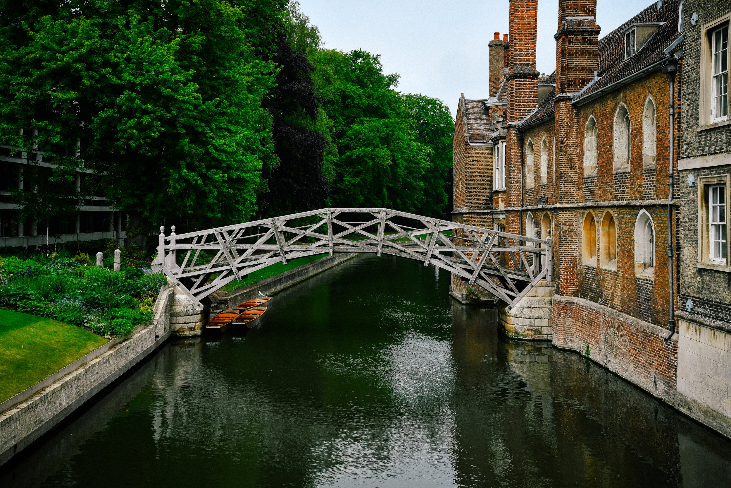 mathematical bridge in Cambridge