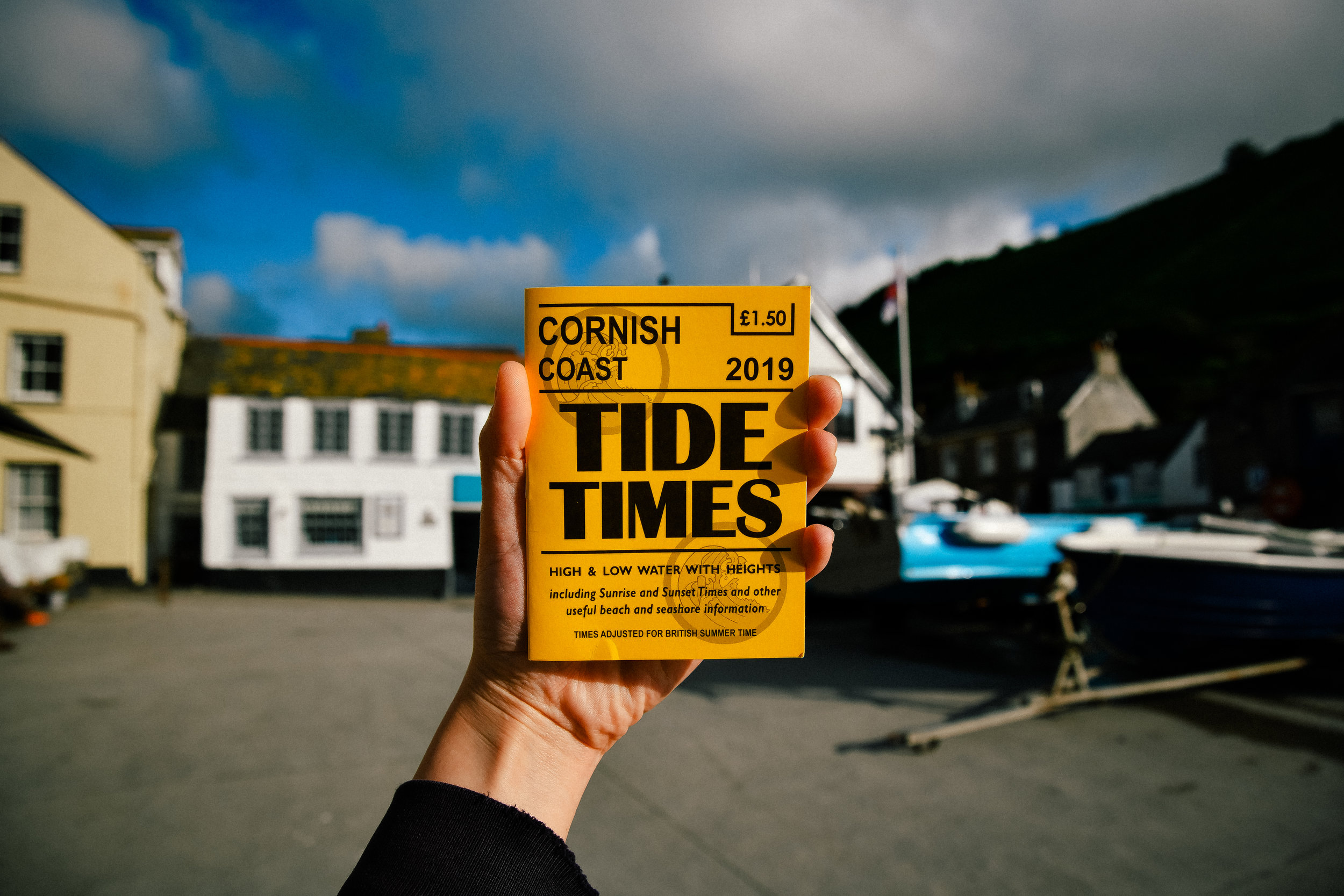 tide times book in port isaac