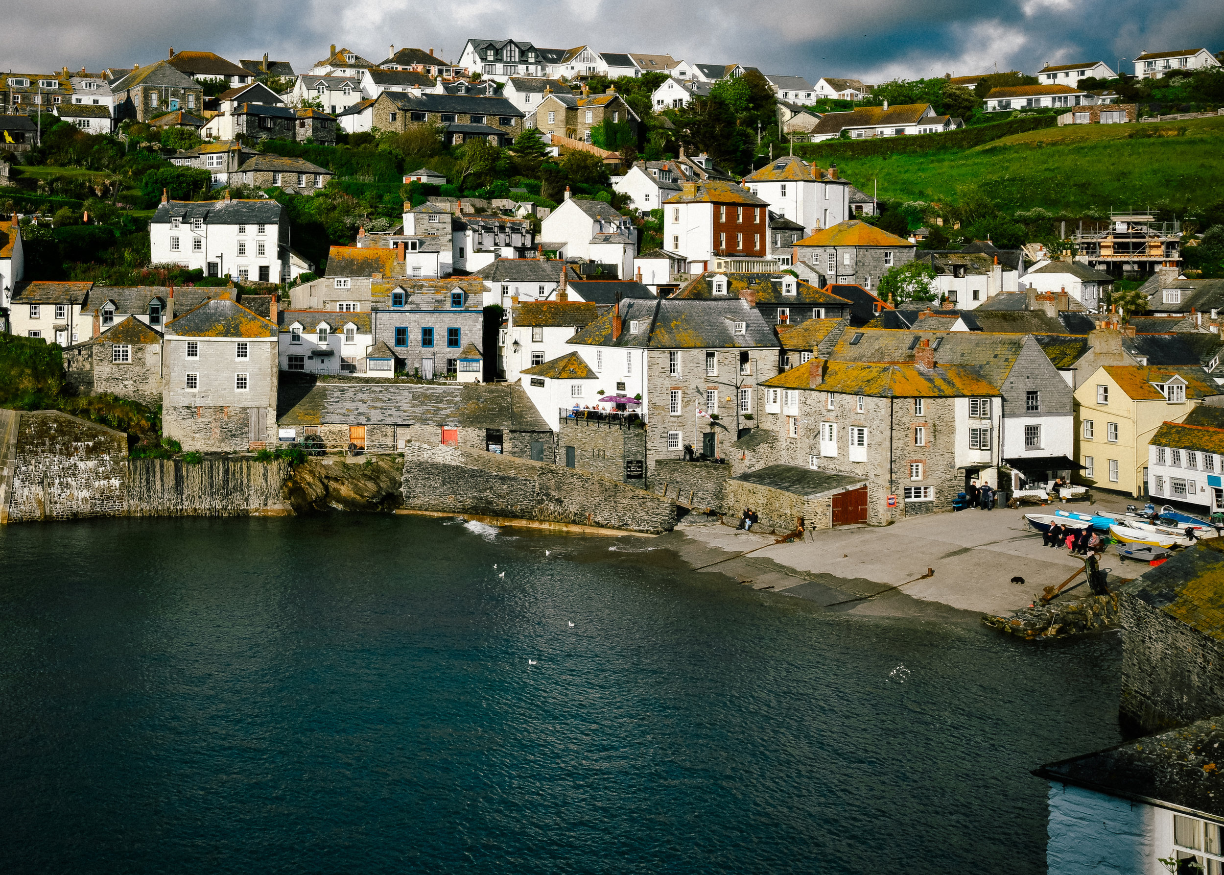 high tide in port isaac