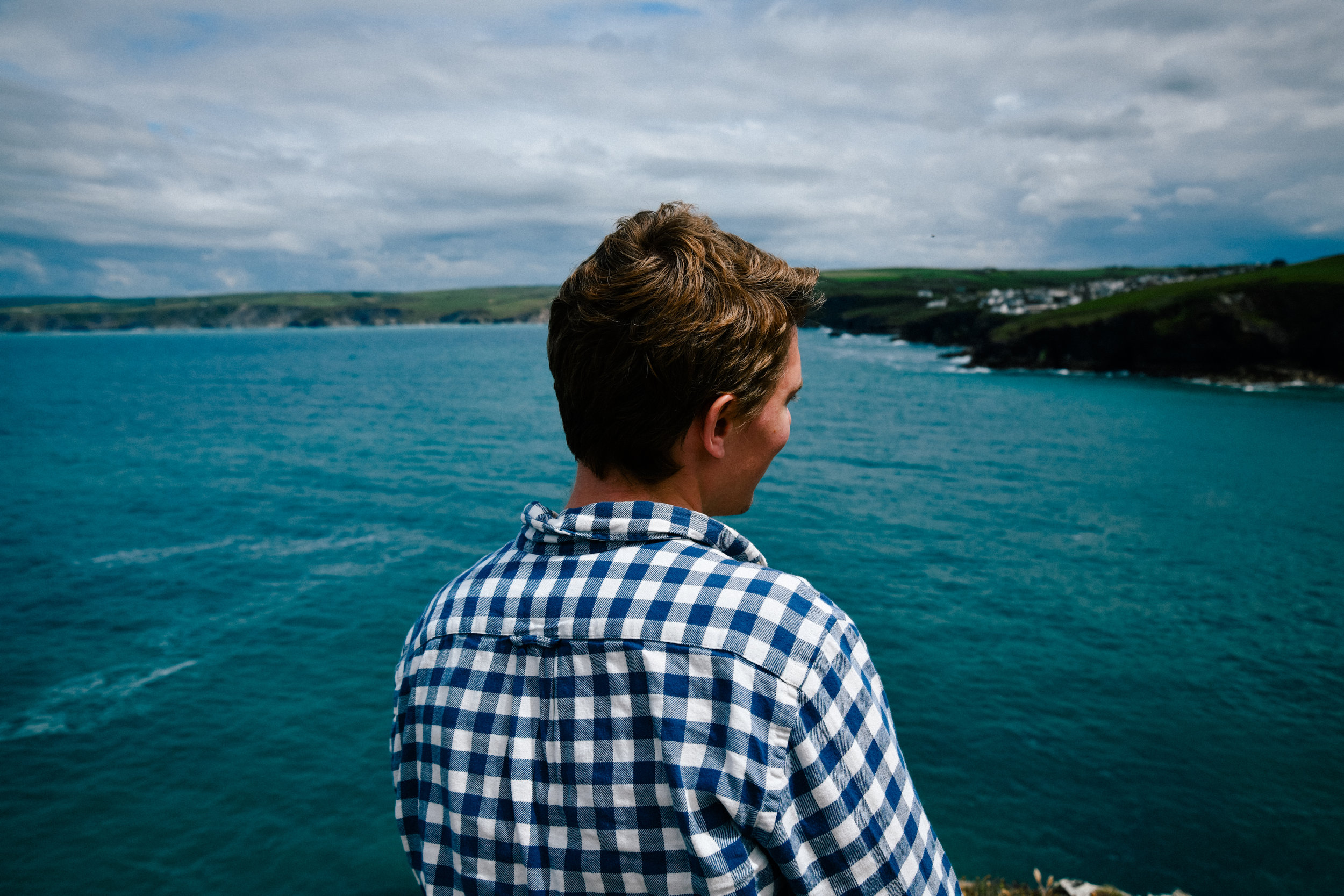 Peter and the port isaac coast