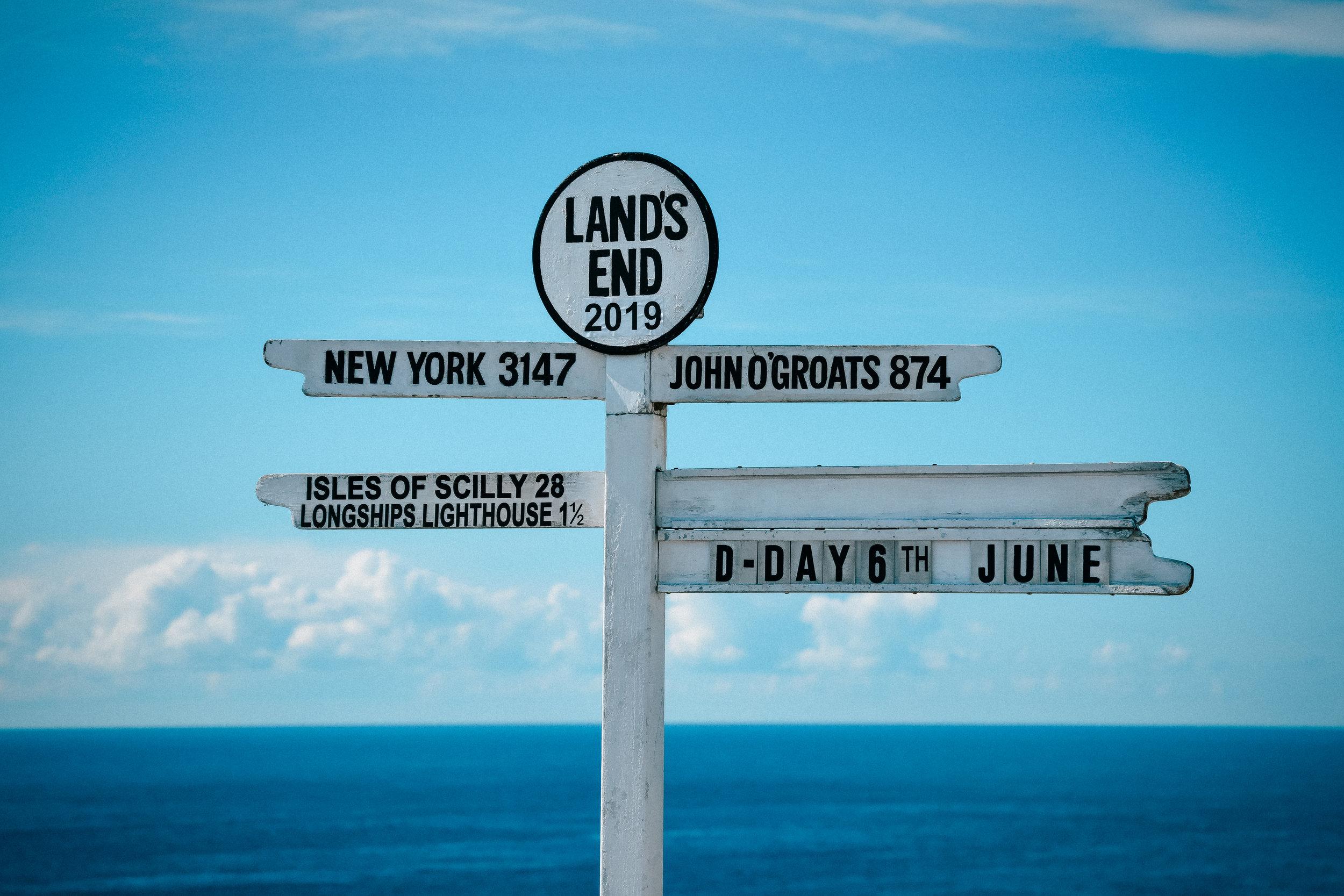 Land's End, England