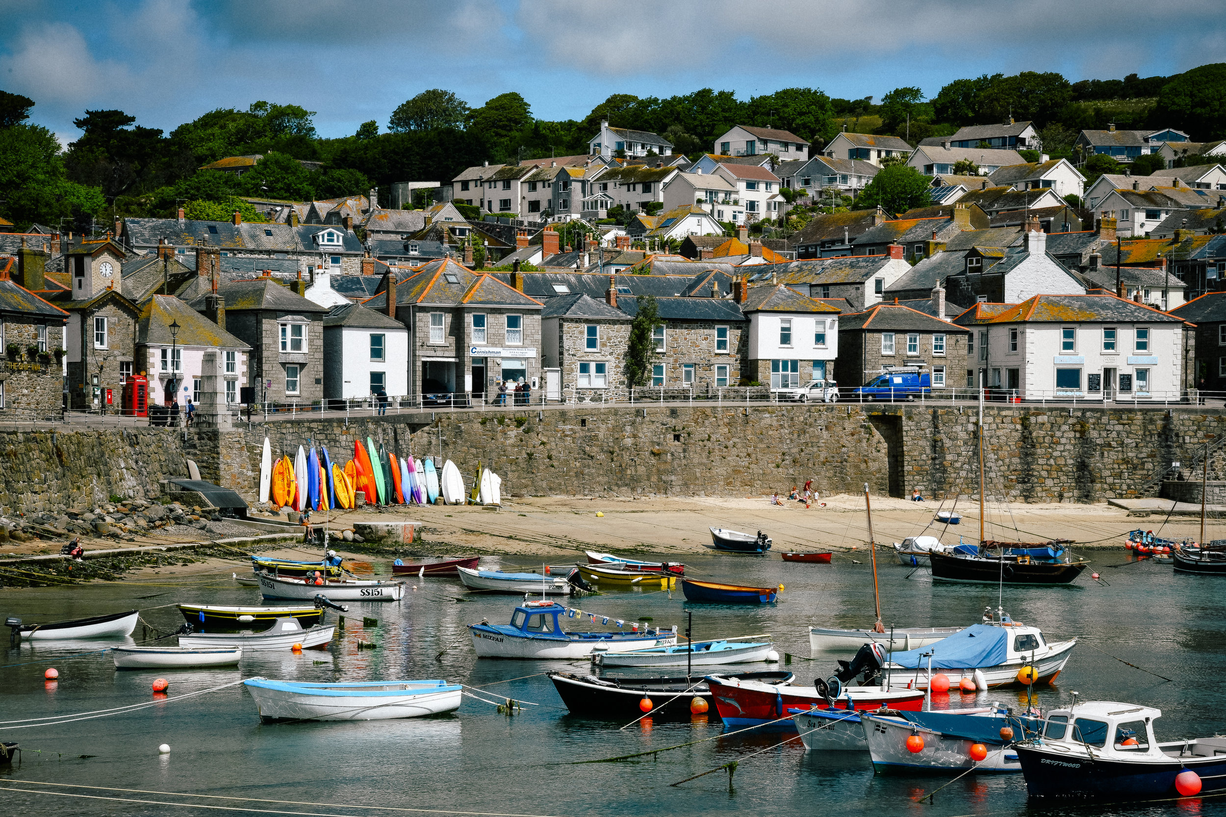 picturesque town of mousehole