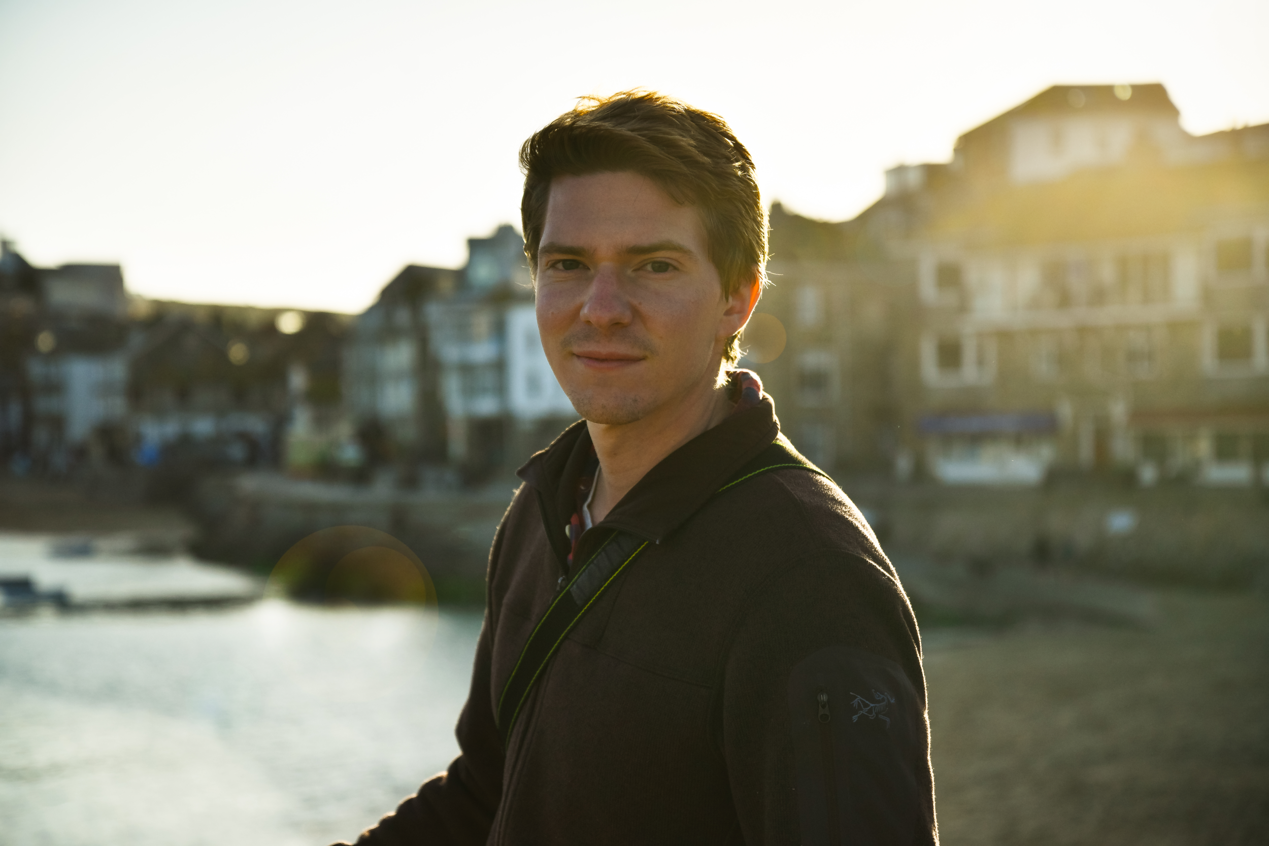 a portrait of P in st. ives, england