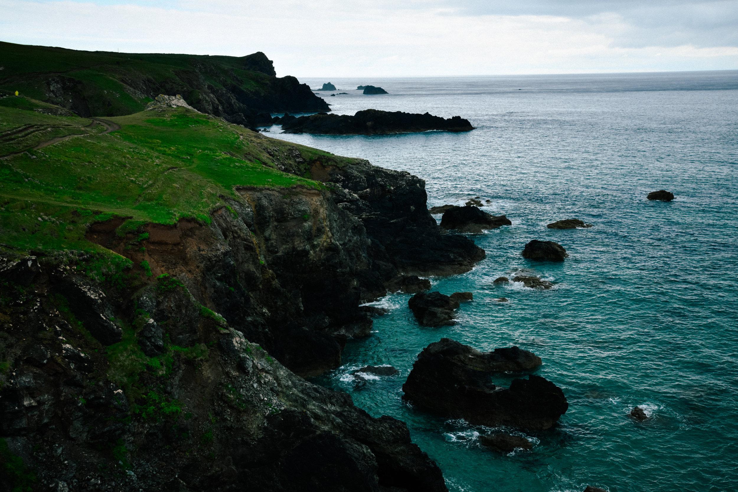 lizard point cliffs