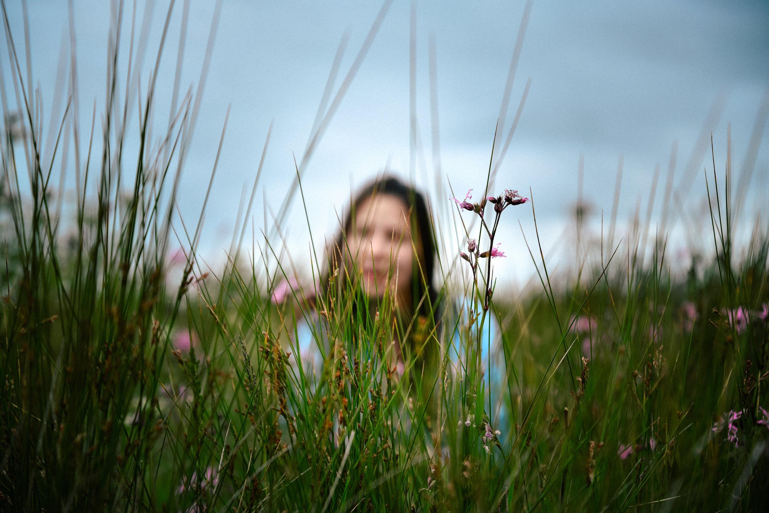 blurry portrait of me
