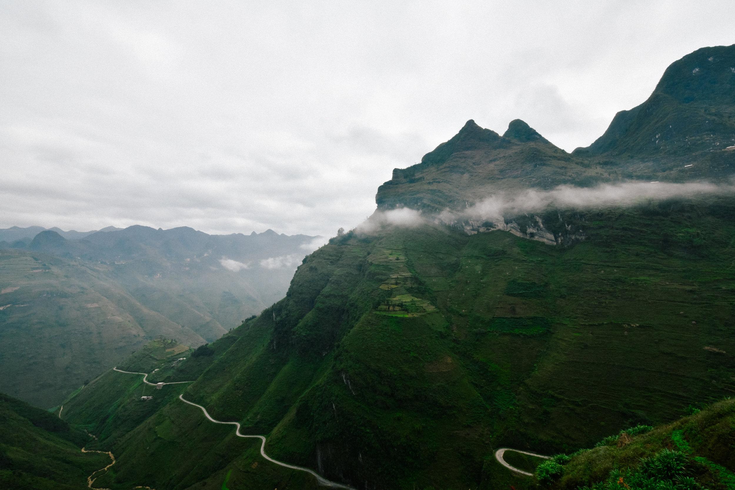foggy northern vietnam