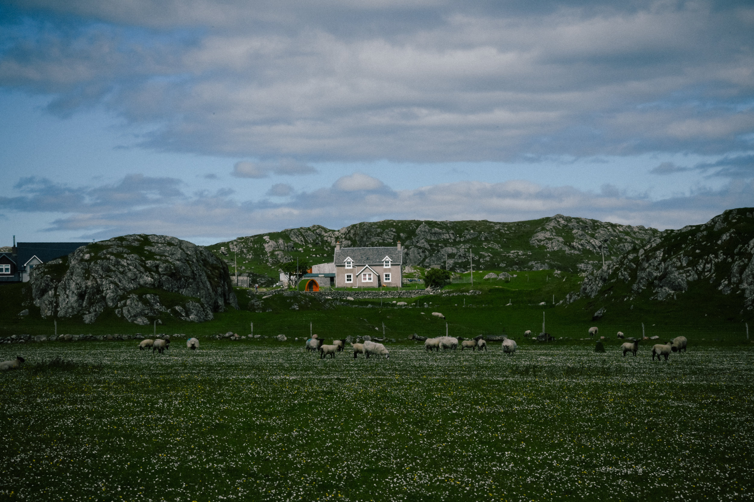 a small house in Iona