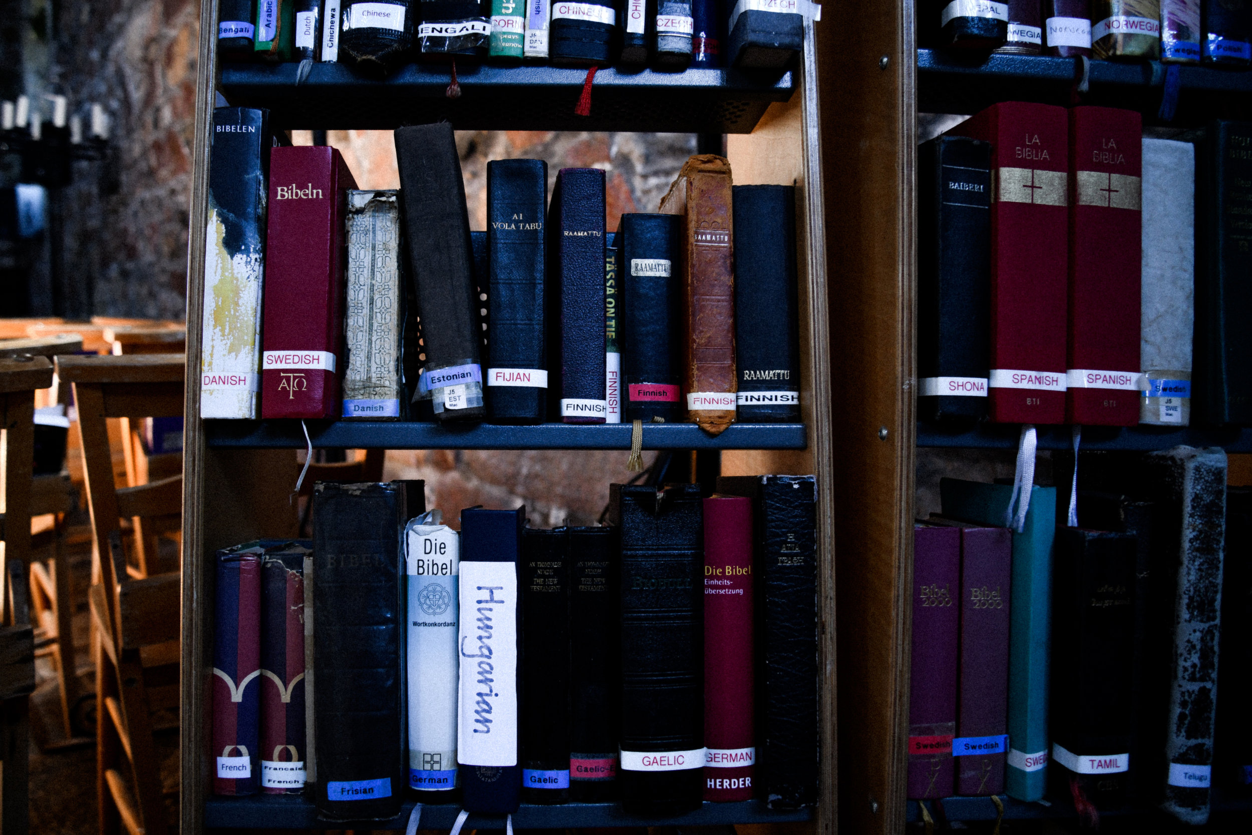 bibles in the abbey