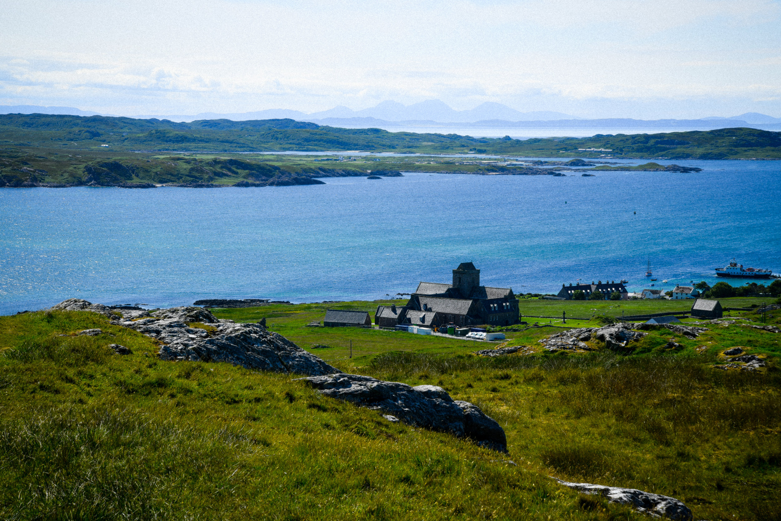 iona from the top of the highest point