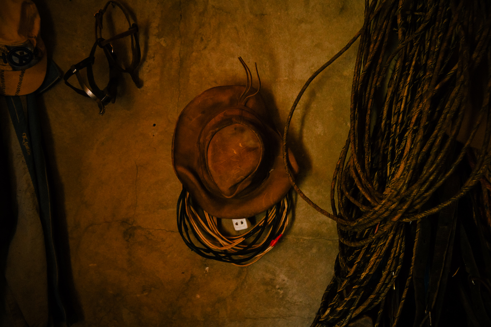 rancher's hat in cotopaxi