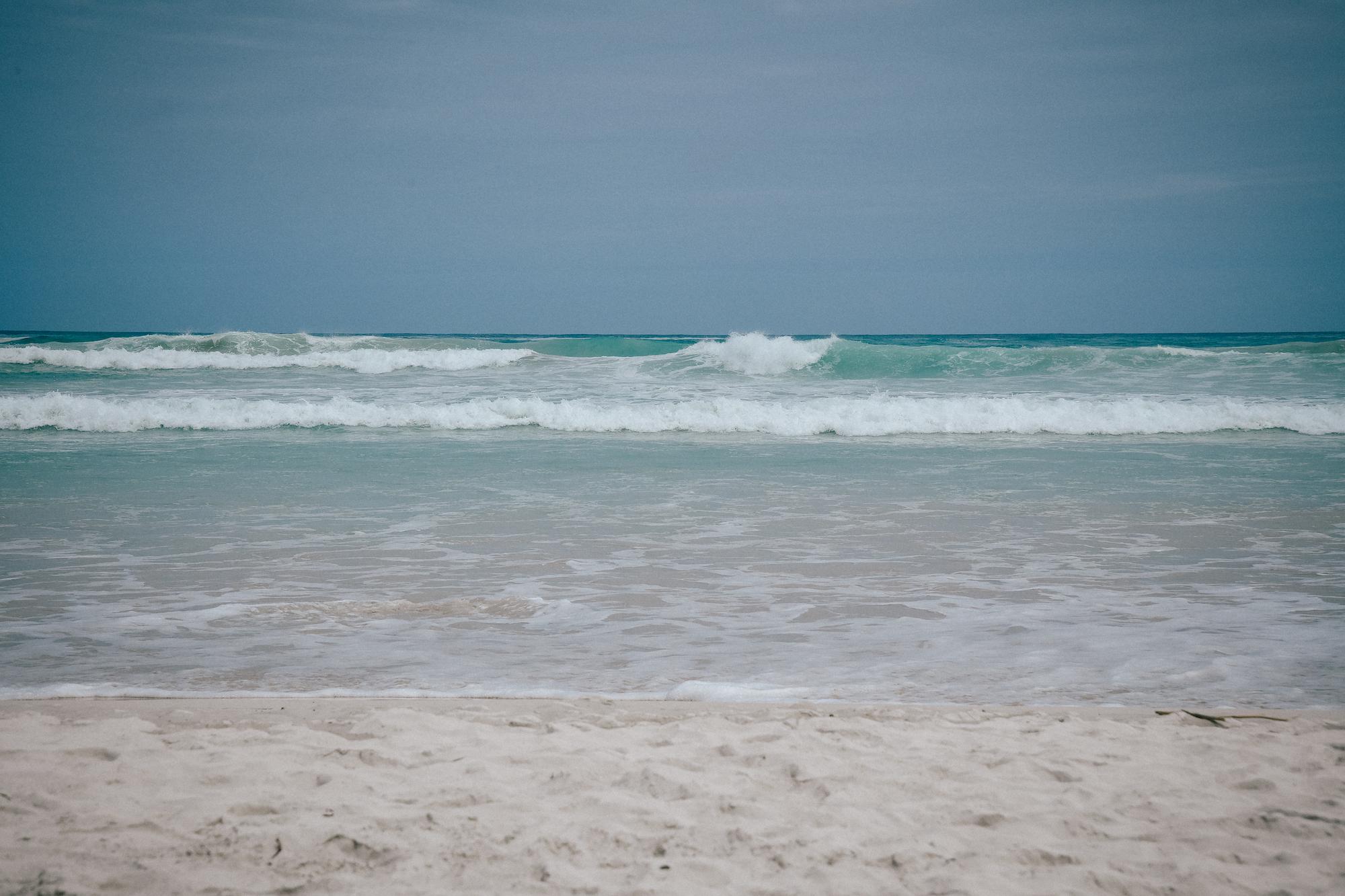 beachside in tortuga bay, galapagos
