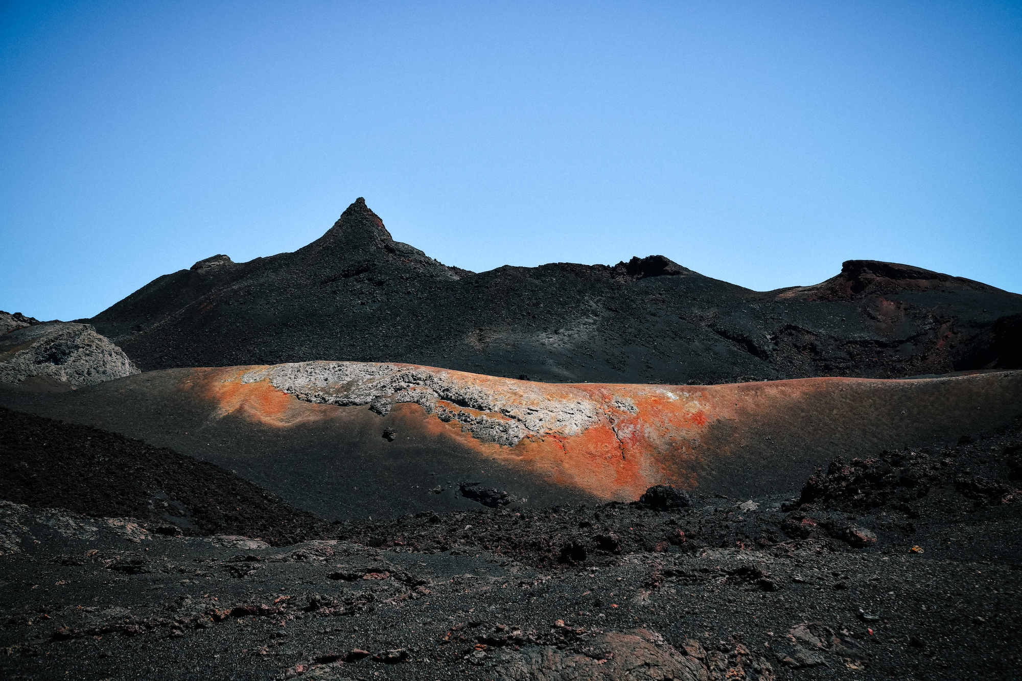 martian-looking landscape in isla isabela