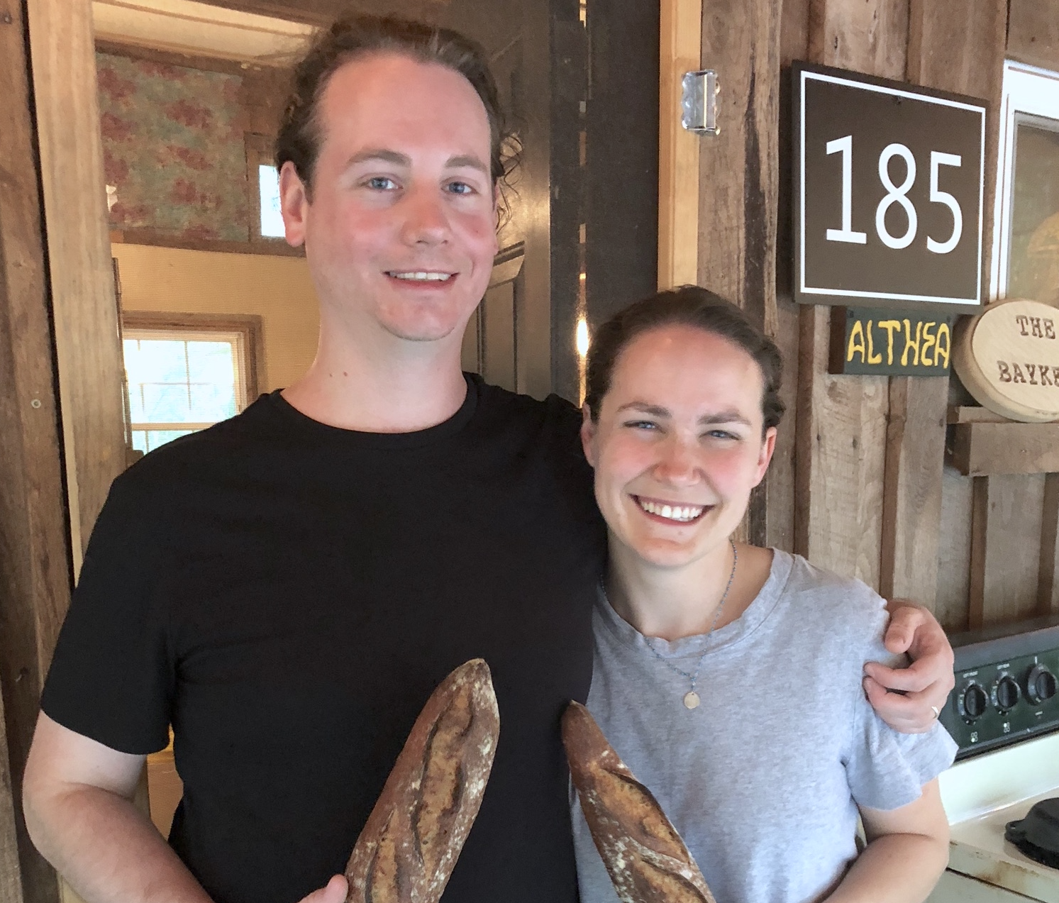 althea bread - Althea Bread is a Charlottesville-based business owned by Andrew and Susan Bayker. They started it in 2018 and went through the 16-week entrepreneur workshop at the Community Investment Collaborative (CIC) in Charlottesville in early 2019. Althea Bread is named after the Greek word for wholesome and healing. To that end they use whole grains and grind much of the flour they use with a stone mill. They have also shown a commitment to local grain farmers by sourcing when they can from local organic grain growers around the region. The business received a 0% SOIL loan in August 2019 to purchase two new stone mills to help them boost production and sales. Read more about Althea Bread and their SOIL loan.