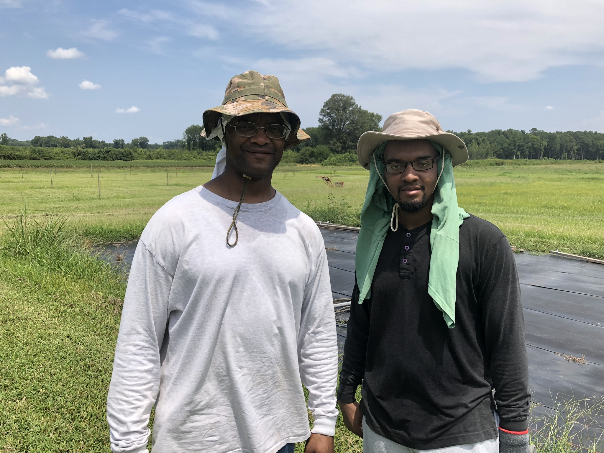 MUHAMMAD FAMILY FARM - The Muhammad Family Farm is located in Southampton County near the towns of Branchville and Boykins. The farm received a 0% SOIL loan in August 2019 to help them purchase much needed equipment for a new farmers market they are starting.Read more →