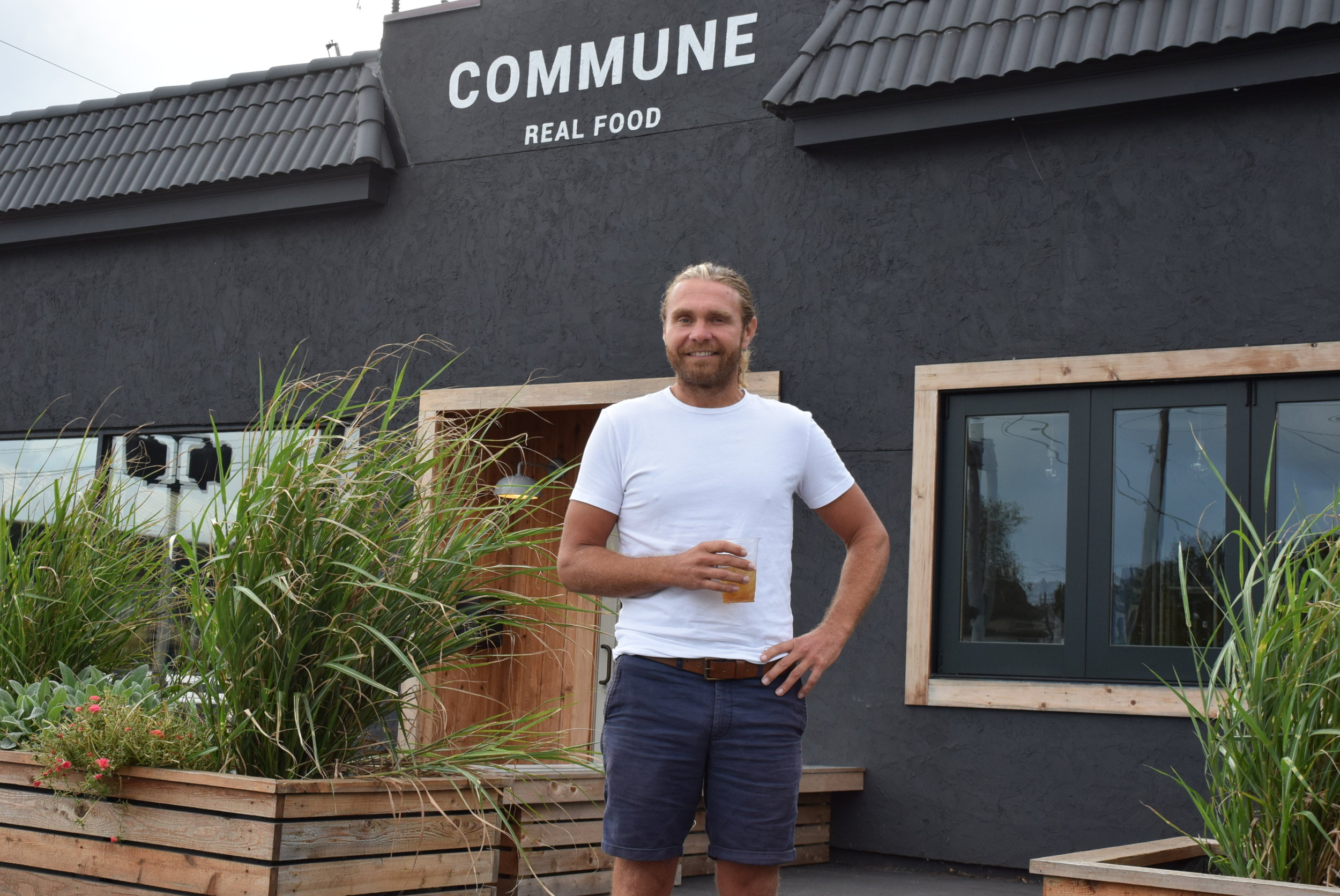 Kevin Jamison, owner of Commune