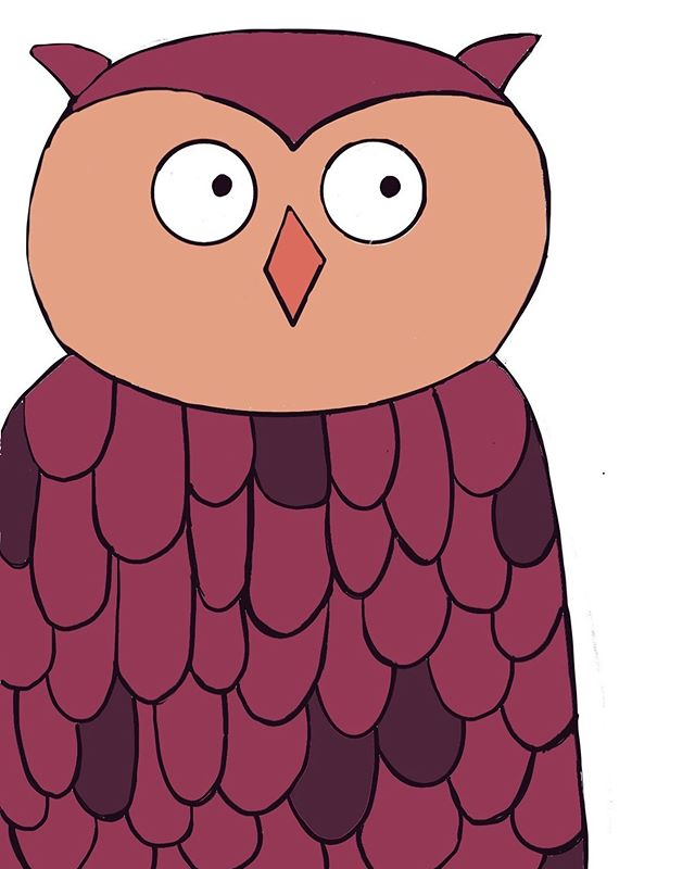 This is Fred.  He is inspired by my little boy, Jude.  I was asked to draw an animal for class and animals didn't sound fun to me and then I remembered Judes love for owls and how cute it is when he makes the noises of one when he see's it. ⠀⠀⠀⠀⠀⠀⠀⠀⠀ In my intention be playful and learn, i am finding that  in the light-heartedness of play, true meaning and joy can be birthed.  And we don't have to go far for inspiration, although that's nice.  It is usually right in front of us if we take the time to really look for it. . ⠀⠀⠀⠀⠀⠀⠀⠀⠀ I love Fred, the owl because Jude does but also because, as I am becoming curious to learn new things he seems as though he's on that journey too.  And providing the wisdom, as owls do, to not give up when I'm not good YET, that the joy truly is in the process, and that to play and become like a child is essential to becoming more whole. #brookedraws #fredtheowl #illustration_daily