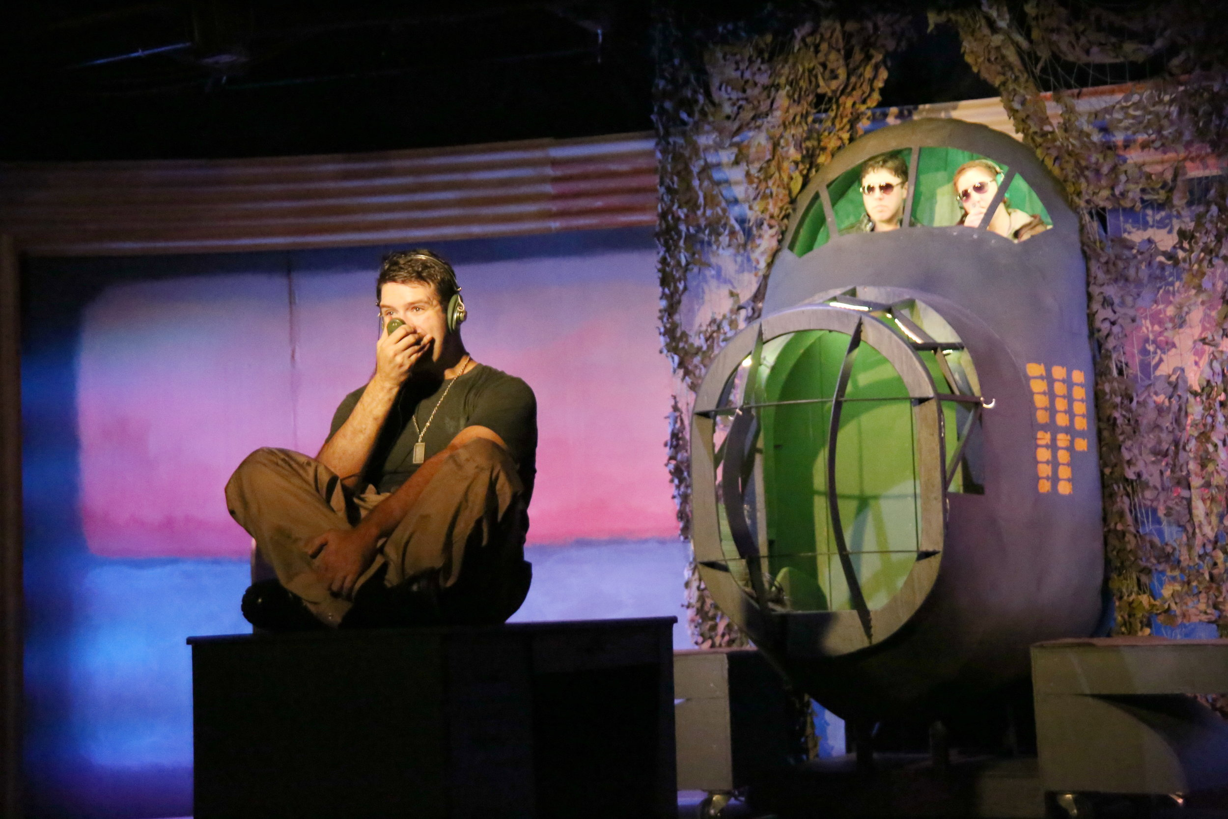 Dan's final directing effort at Los Altos Stage Company, Catch-22.