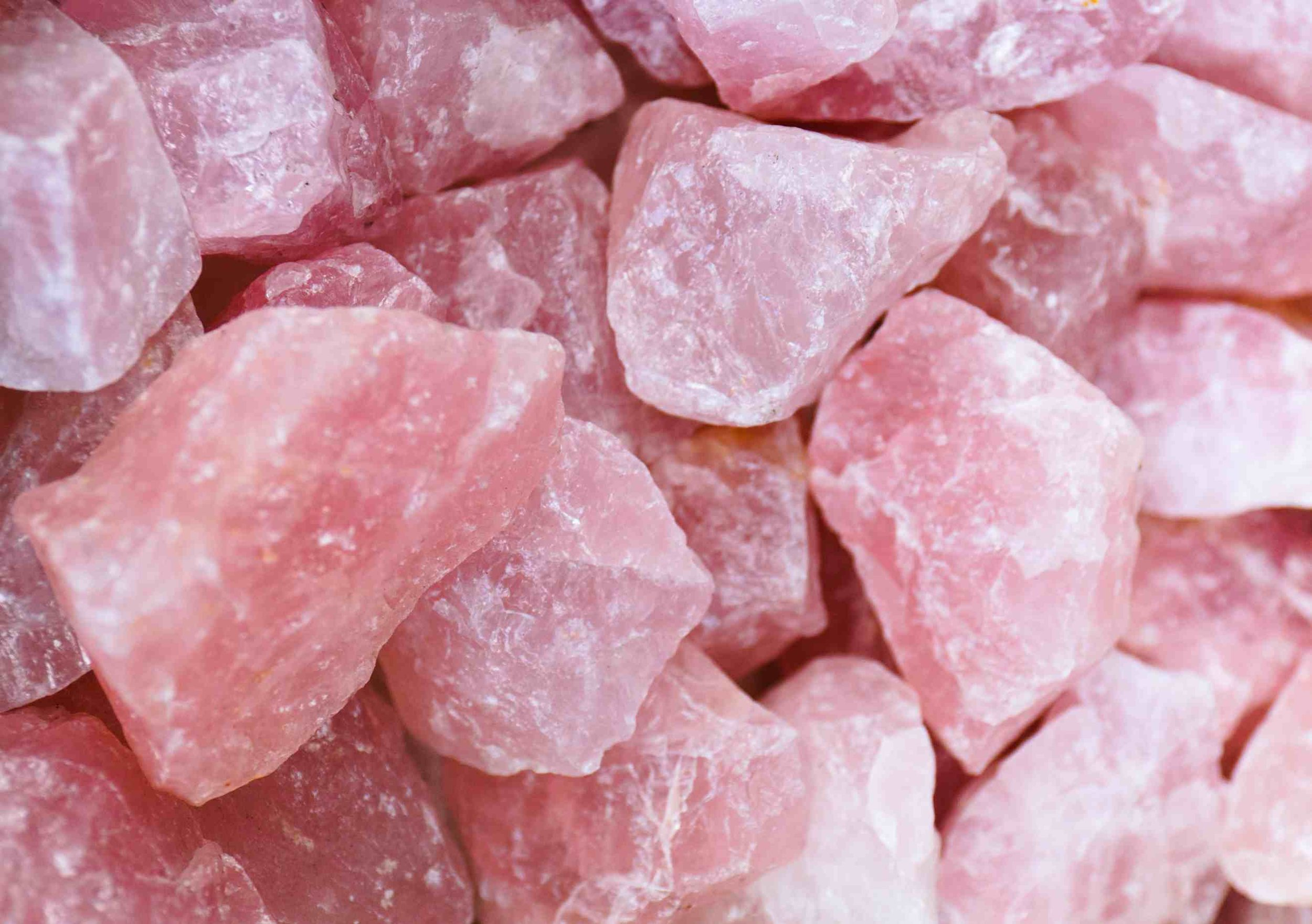 Crystal for October - Rose Quartz
