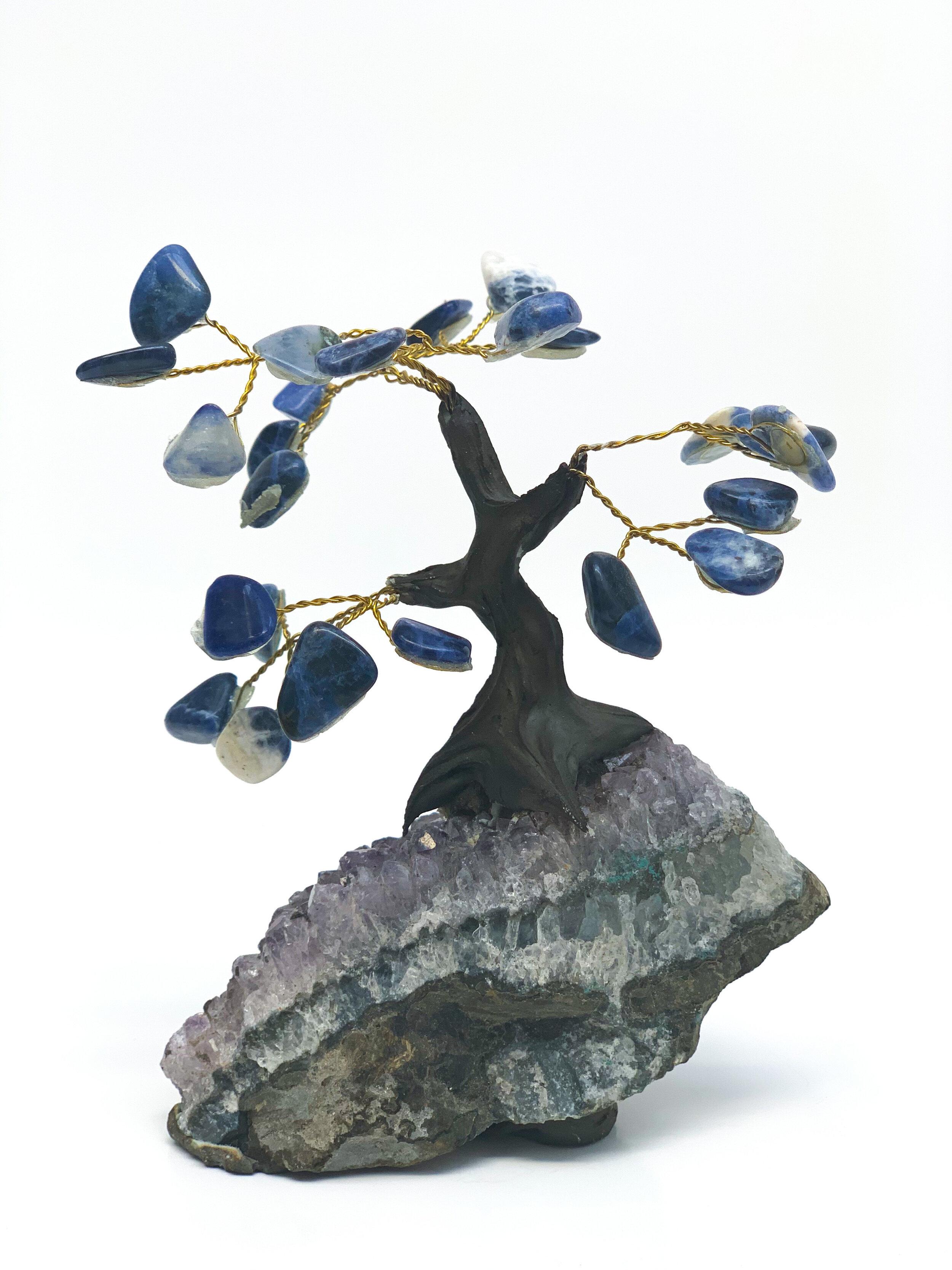 Arbol decorativo Feng Shui con Sodalita