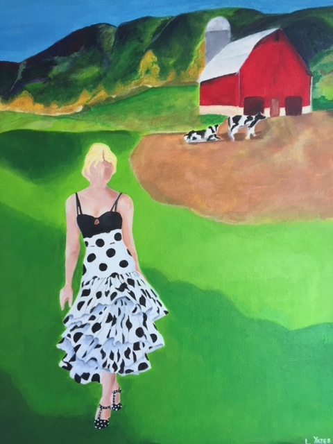 Dolce Heifer   Acrylic on Canvas