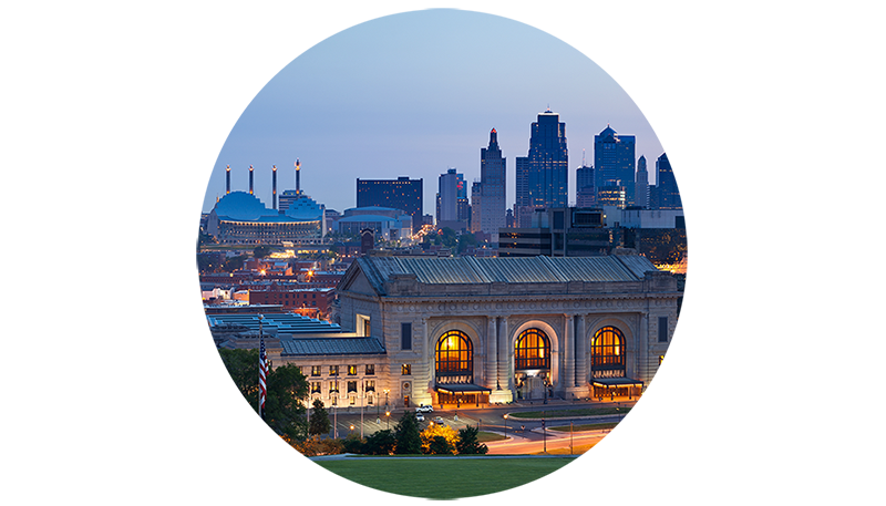 Kansas City Skyline Icon
