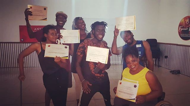Hard work pays off. SPLASH Dance Company receive certificates for developing facilitation skills over the past year. If you would like us to teach inclusive dance workshops at your school/ event we are ready!