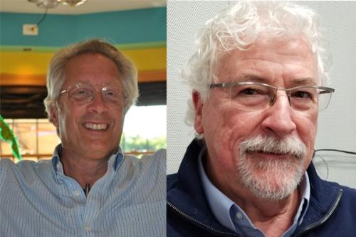 John Hennessey (Left) & Ed Ward (Right)