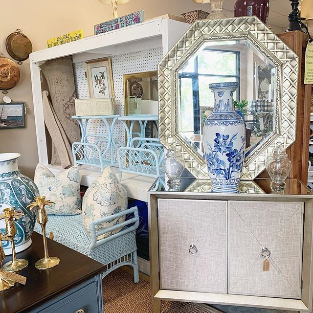 our store has a fresh look today & is loaded with tons of new finds 😍 come visit!