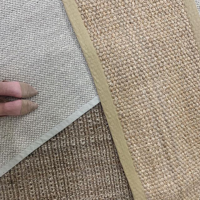 a whole bunch of beautiful and versatile Jute rugs are now available to shop in our online store | link in bio