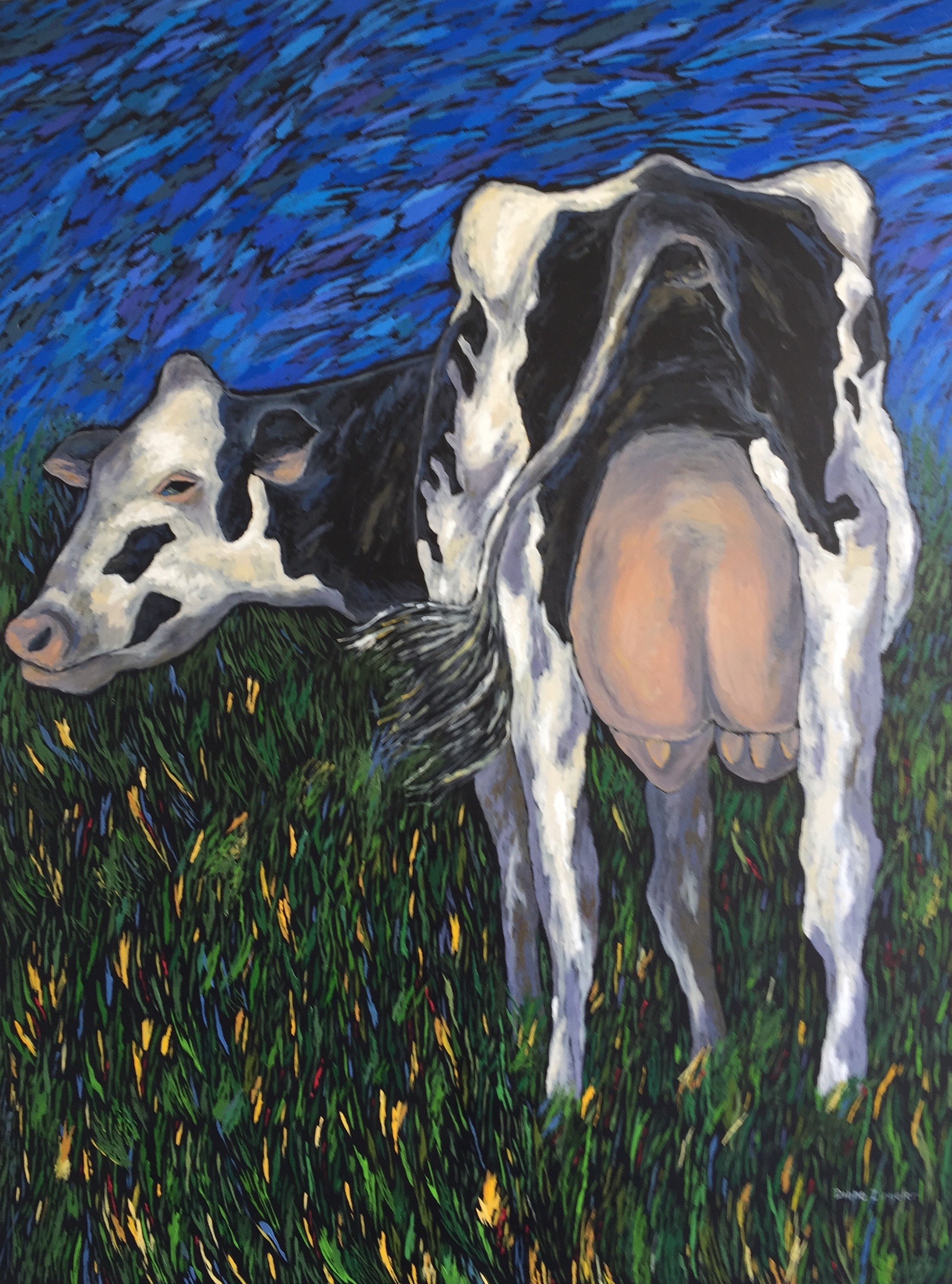 Sally - 30'' W x 40'' H - oil
