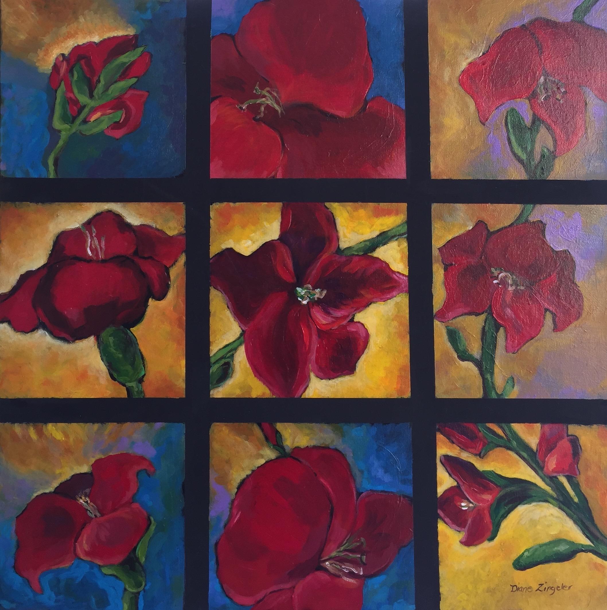 Abundance - 24'' x 24'' - Acrylic