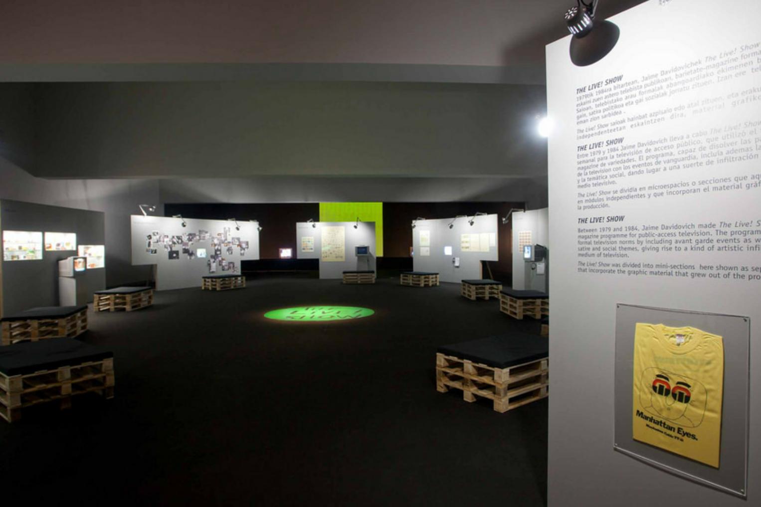 ATRIUM MUSEUM - Jaime Davidovich: Bite the Hand that Feeds YouOctober 2, 2010 - January 9, 2011Francia Kalea, 24, Vitoria-Gasteiz, Araba