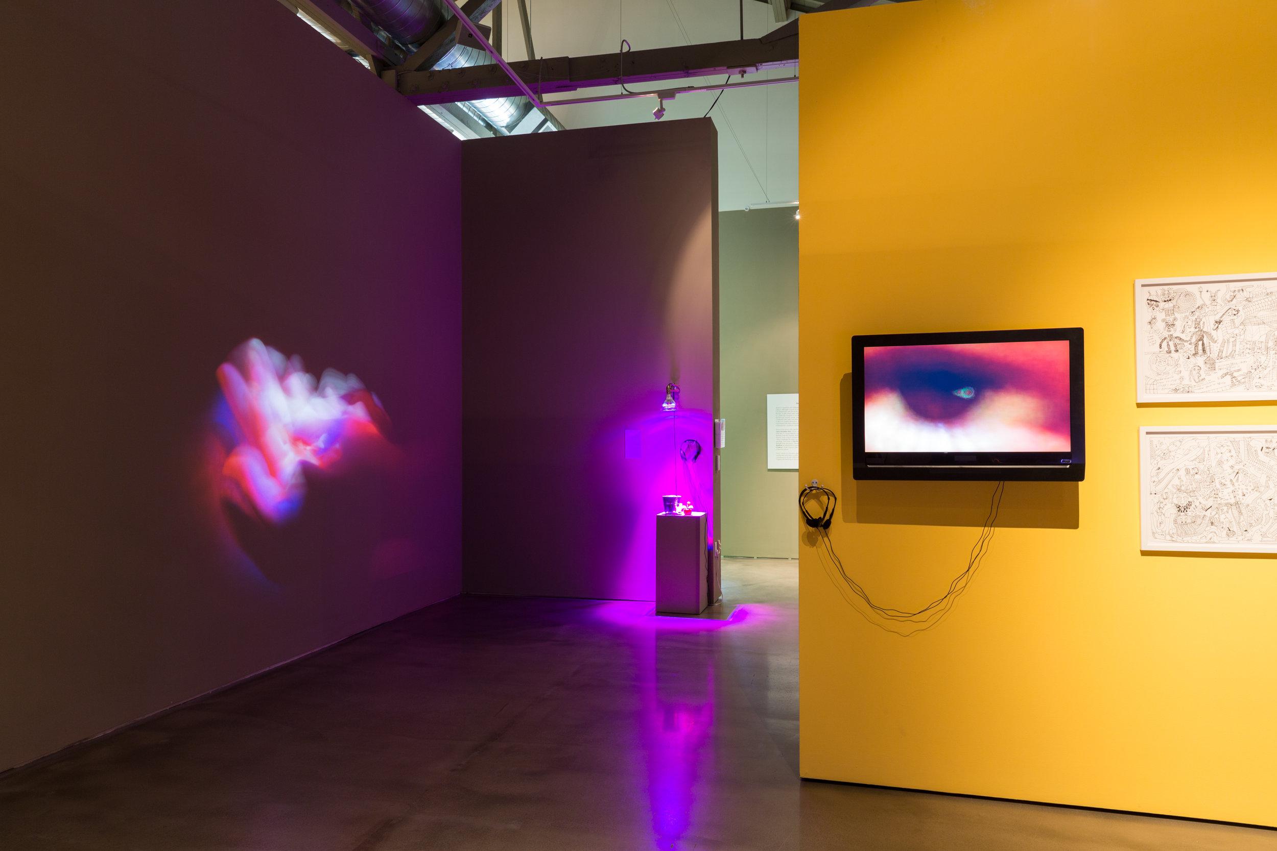 Installation of  Sonic Futures . Photo: Qian Wang.