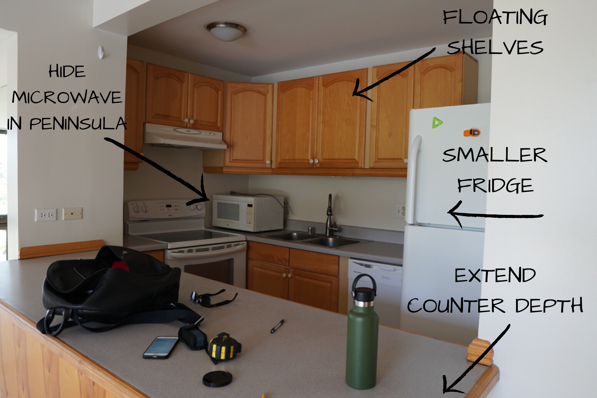 How We Designed Our Small U Shaped Kitchen Reveal Day Liza Nicole Interiors