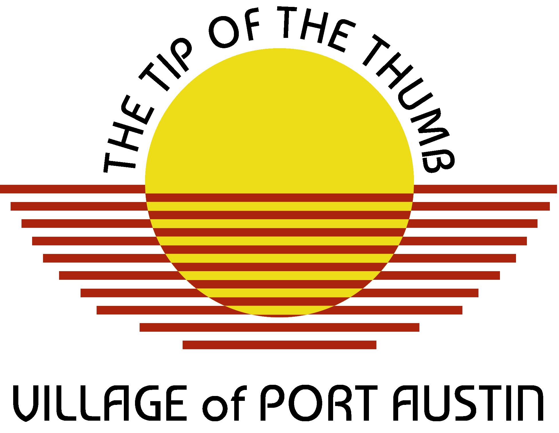 Port Austin Village FULL Logo 2018 - vertical-01.png