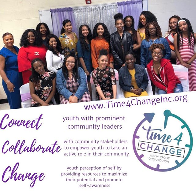 Don't forget we're still accepting mentor applications! Application deadline September 21st 💜 #connect #collaborate #change #time4changeinc #charlotte