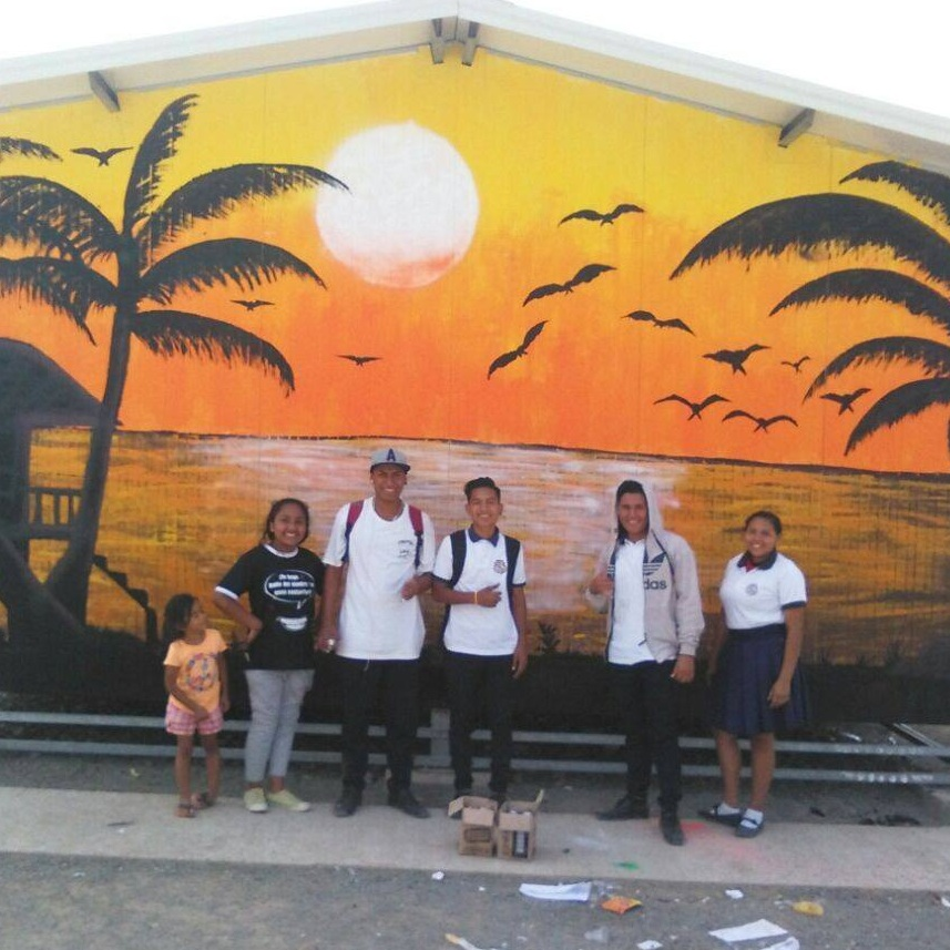 Canoa Youth Art Club - Canoa, Ecuador